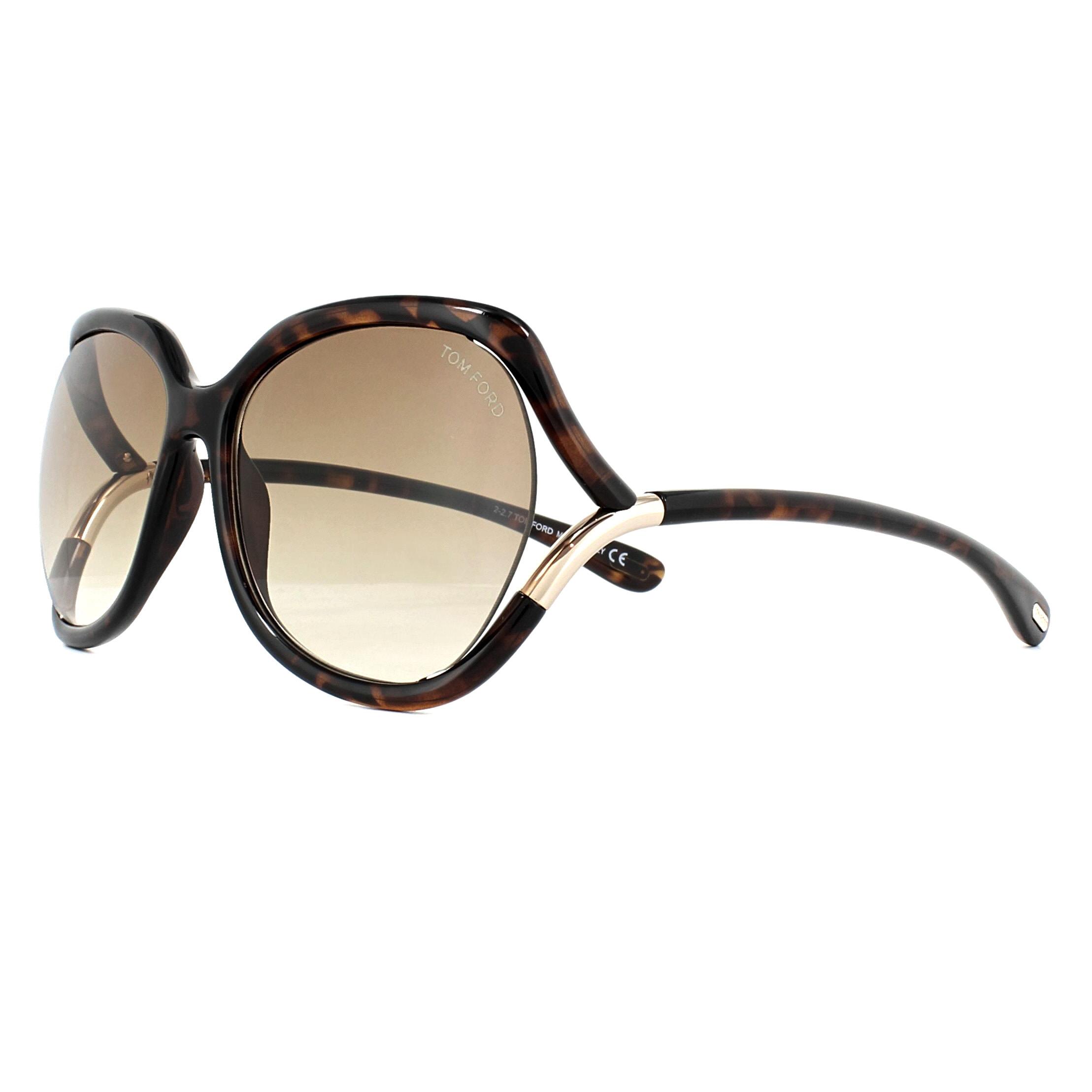 83a3e7e6c8a2 Sentinel Tom Ford Sunglasses 0578 Anouk 52F Dark Havana Brown Gradient