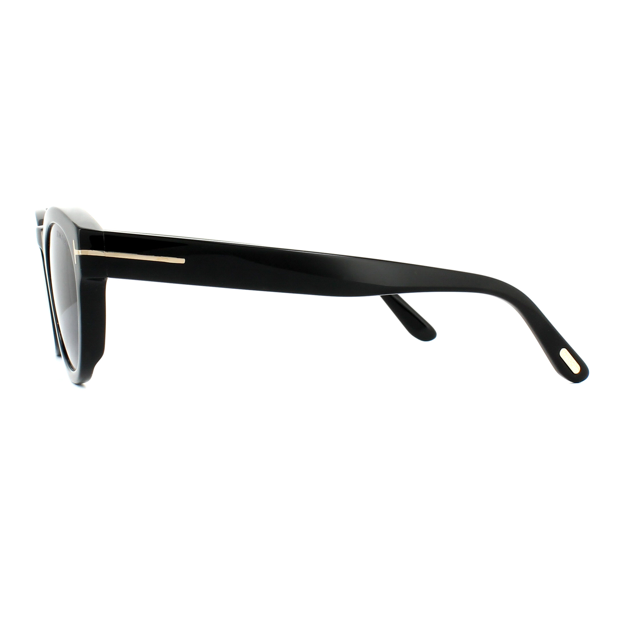 2a6c04bcf62c Sentinel Tom Ford Sunglasses 0590 Bryan 01V Shiny Black Grey Polarized