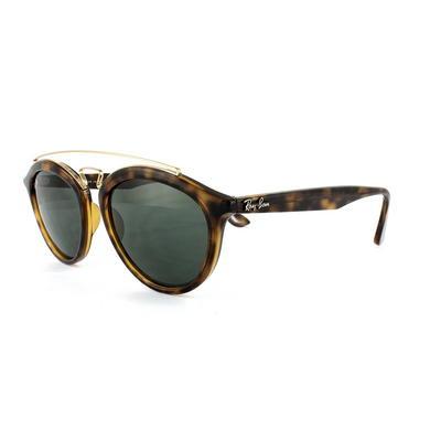 Ray-Ban Sunglasses New Gatsby 4257 710/71 Havana Green 53mm