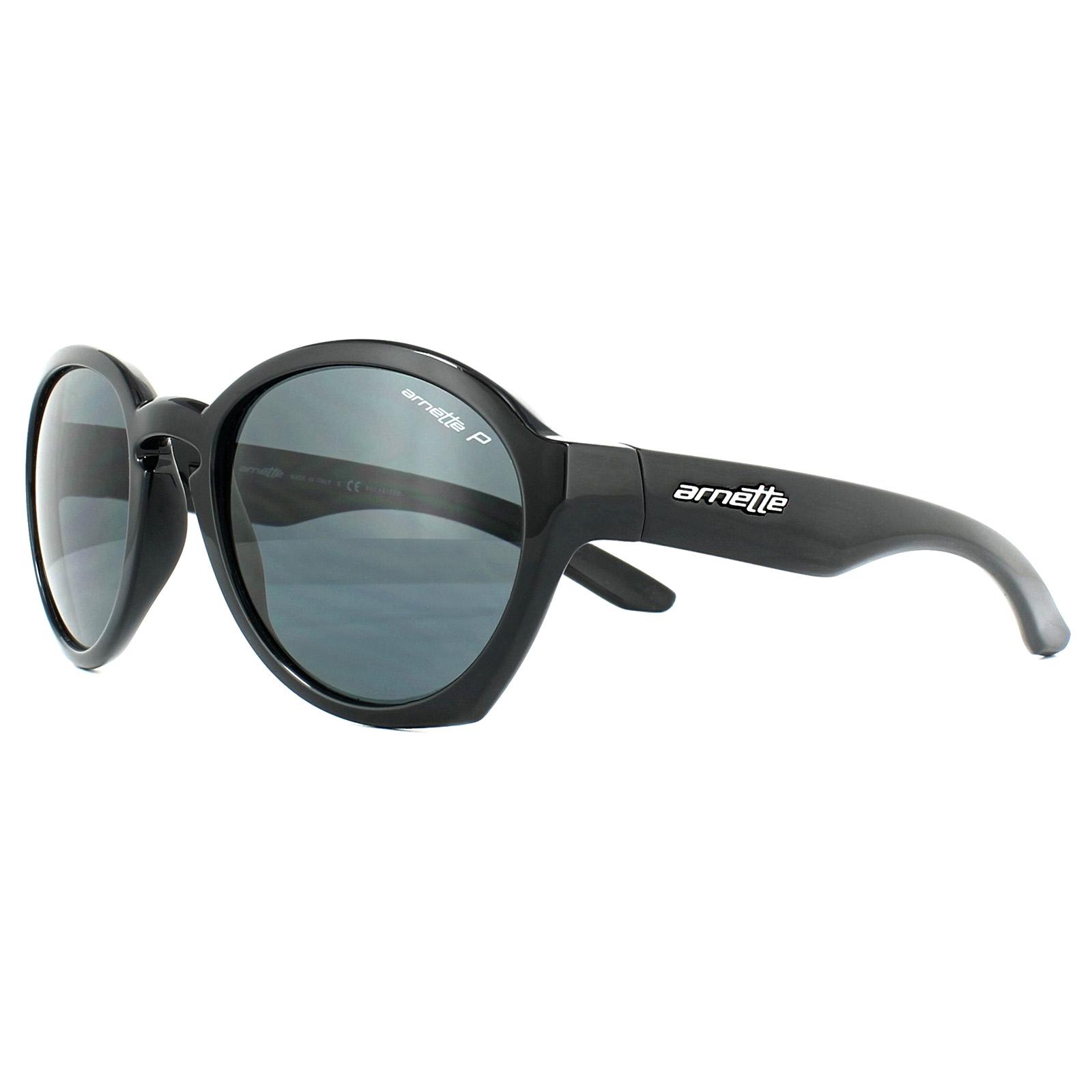 9cabf5f133f1d Sentinel Arnette Sunglasses Moolah 4170 41 81 Black Grey Polarized