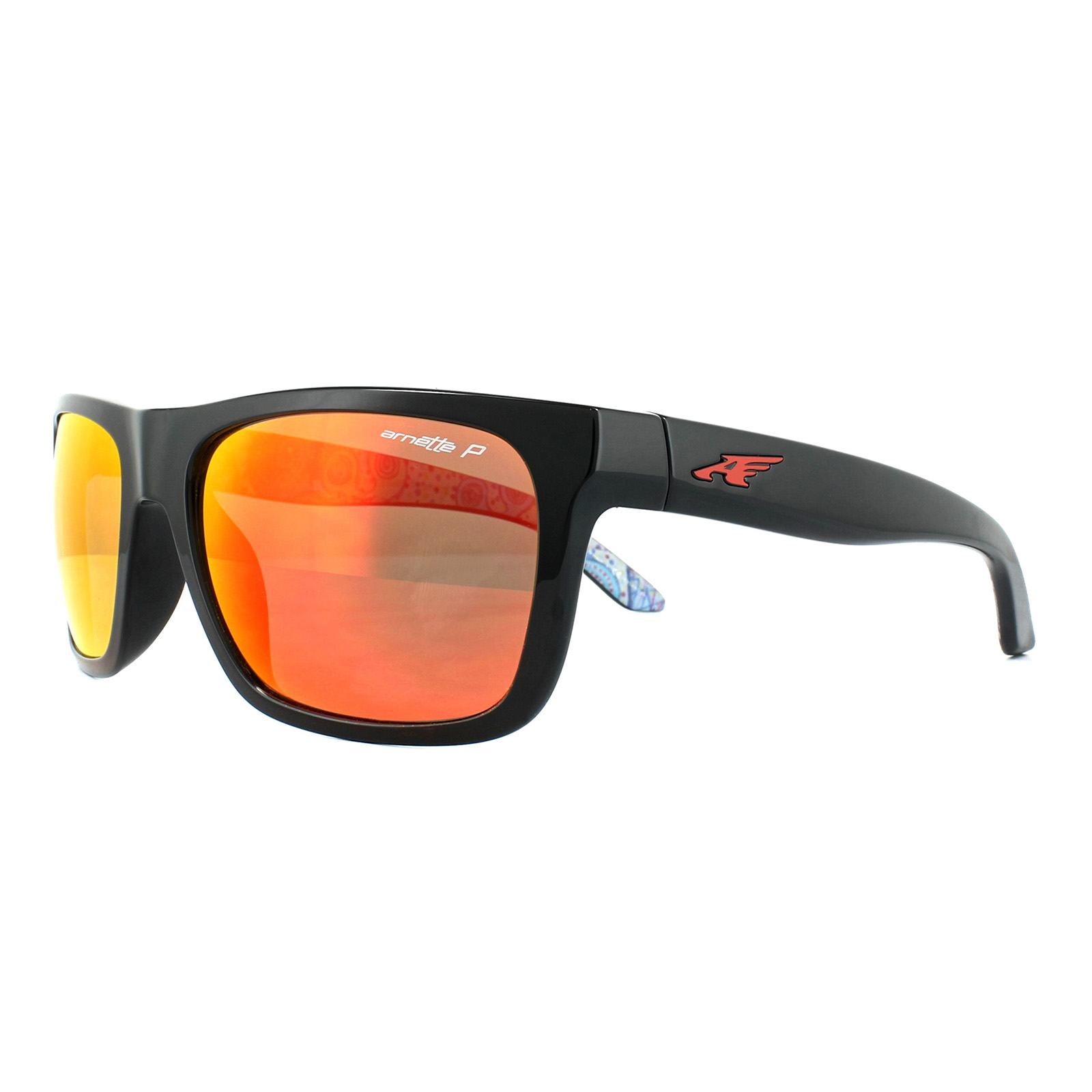 ec25c3fea6 Sentinel Arnette Sunglasses 4176 Dropout 22771J Black Dark Green Mirror Blue