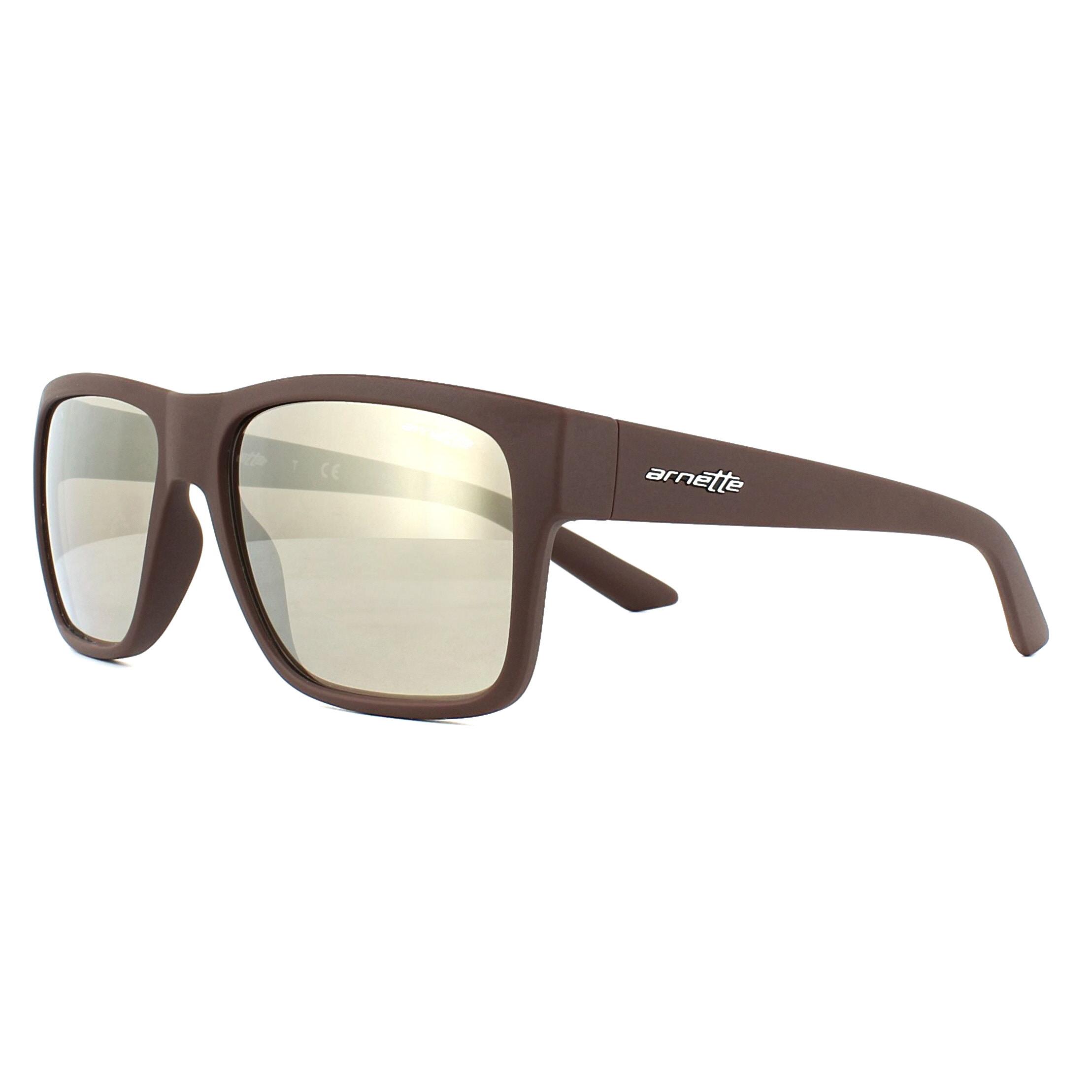 5ca7a3eb8 Sentinel Arnette Sunglasses Reserve 4226 23805A Matt Brown Brown Mirror  Gold. Sentinel Thumbnail 2