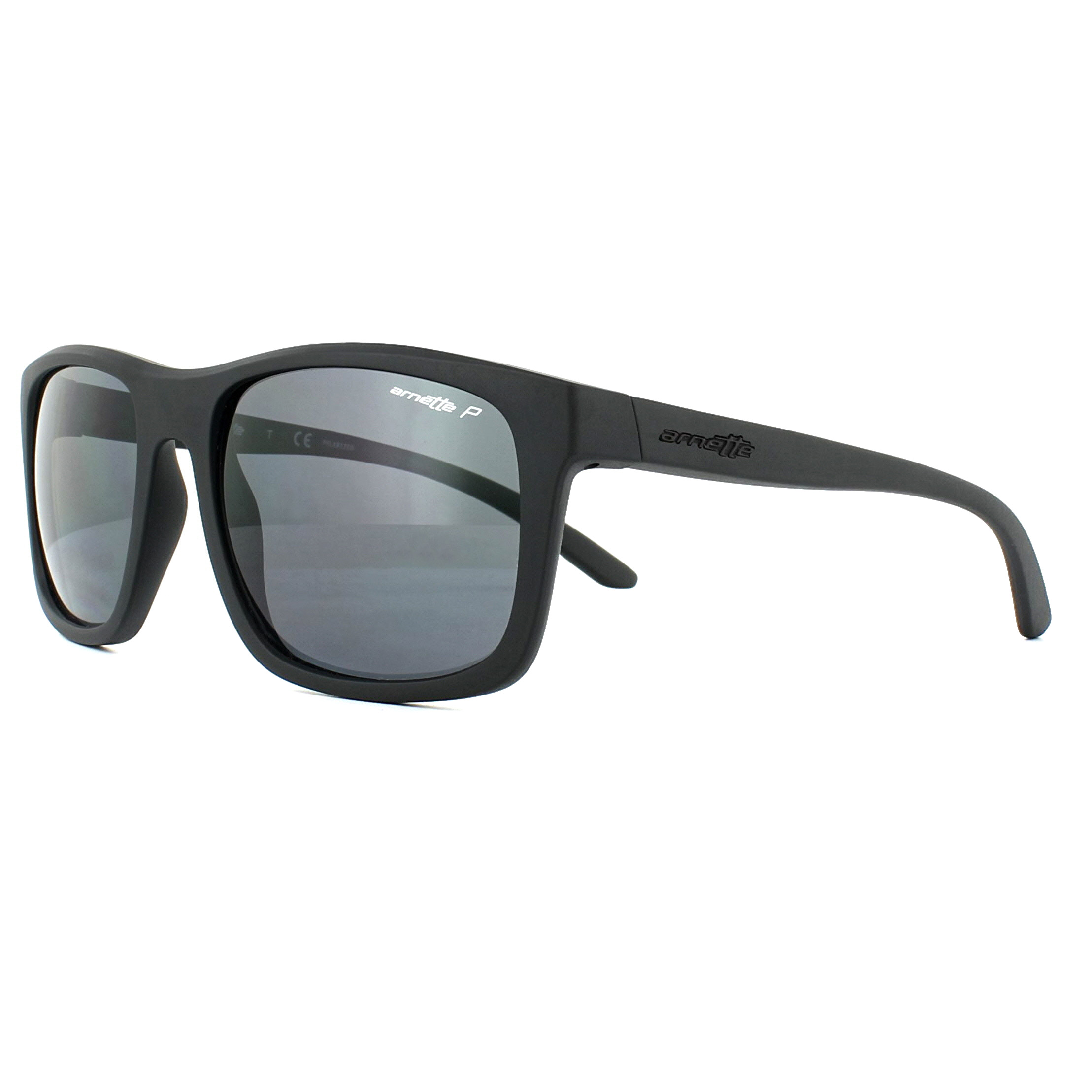 48938d0ece Sentinel Arnette Sunglasses Complementary 4233 01 81 Matt Black Grey  Polarized