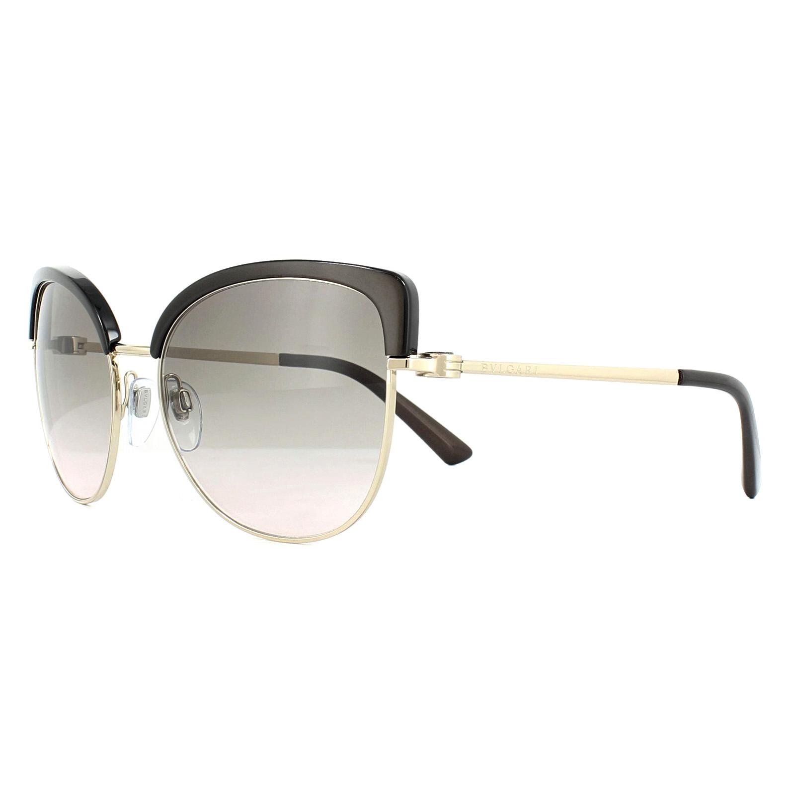 2b86dcd27f Sentinel Bvlgari Sunglasses 6082 278/3B Pale Gold Cocoa Pink Gradient Grey