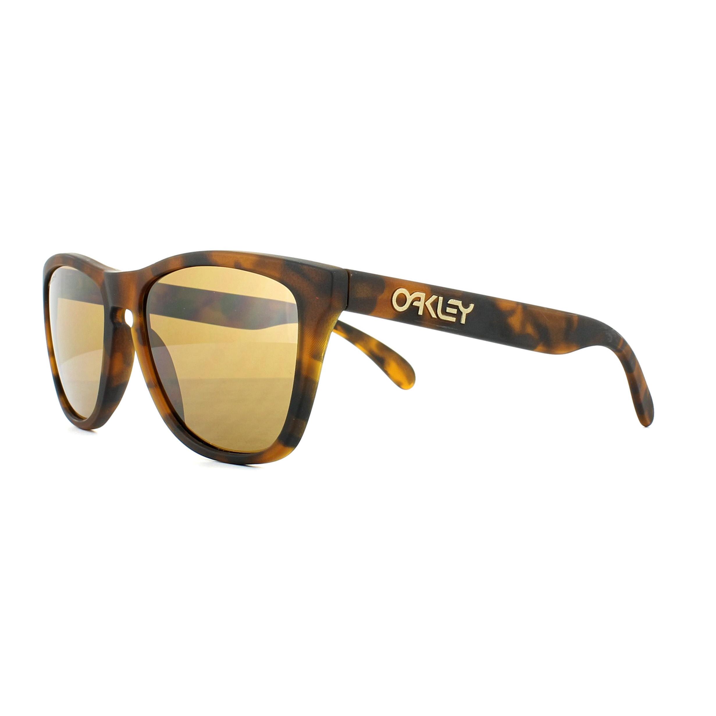 f61b5227ab Sentinel Oakley Sunglasses Frogskins OO9013-C5 Matt Tortoise Prizm Tungsten
