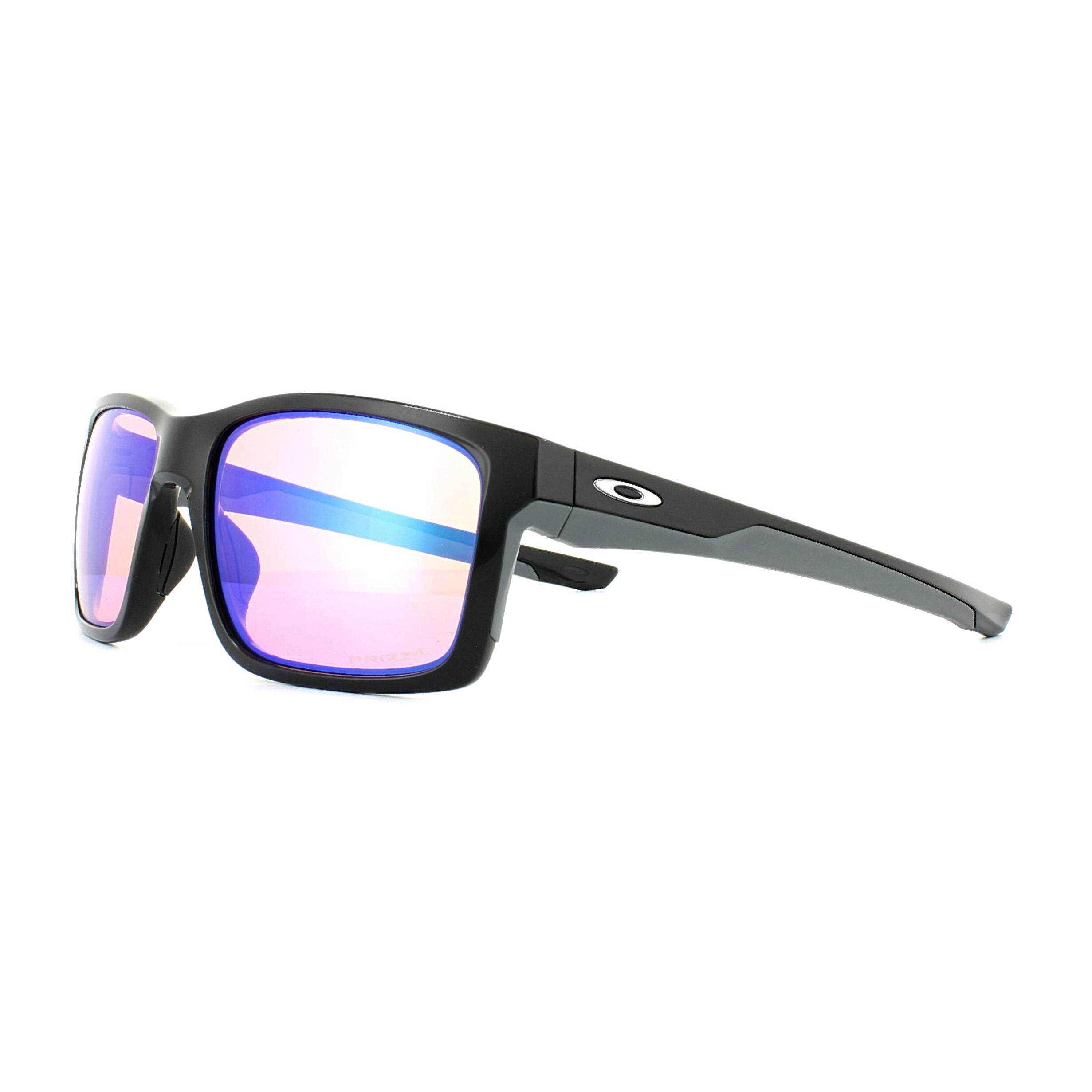b33fb67ff04 Sentinel Oakley Sunglasses Mainlink OO9264-23 Polished Black Prizm Golf