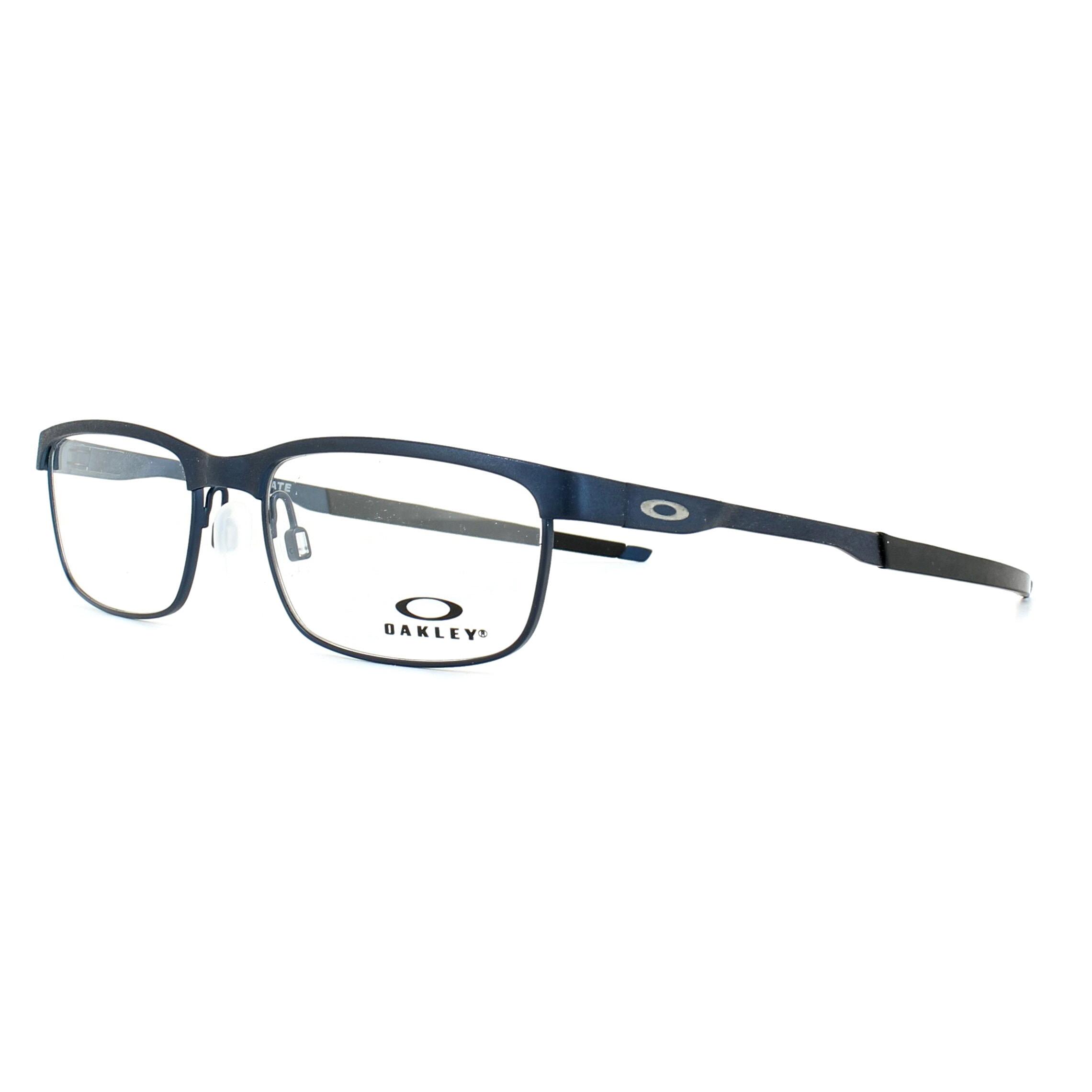 5a9205e3f6 Sentinel Oakley Glasses Frames Steel Plate OX3222-03 Powder Midnight 52mm  Mens