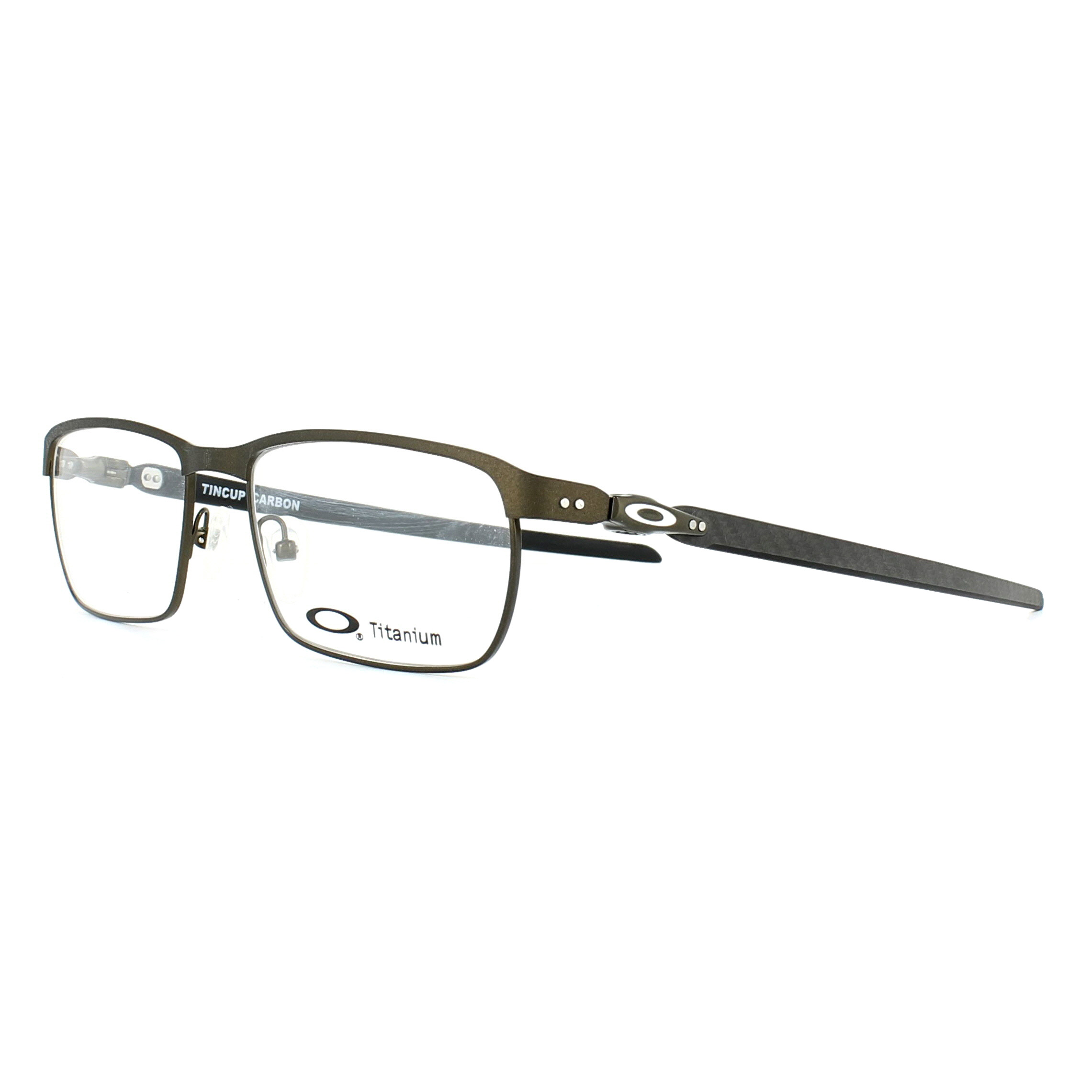 5b9c7c85a2 Sentinel Oakley Glasses Frames 5094 Tincup Carbon OX5094-02 Powder Pewter  54mm Mens
