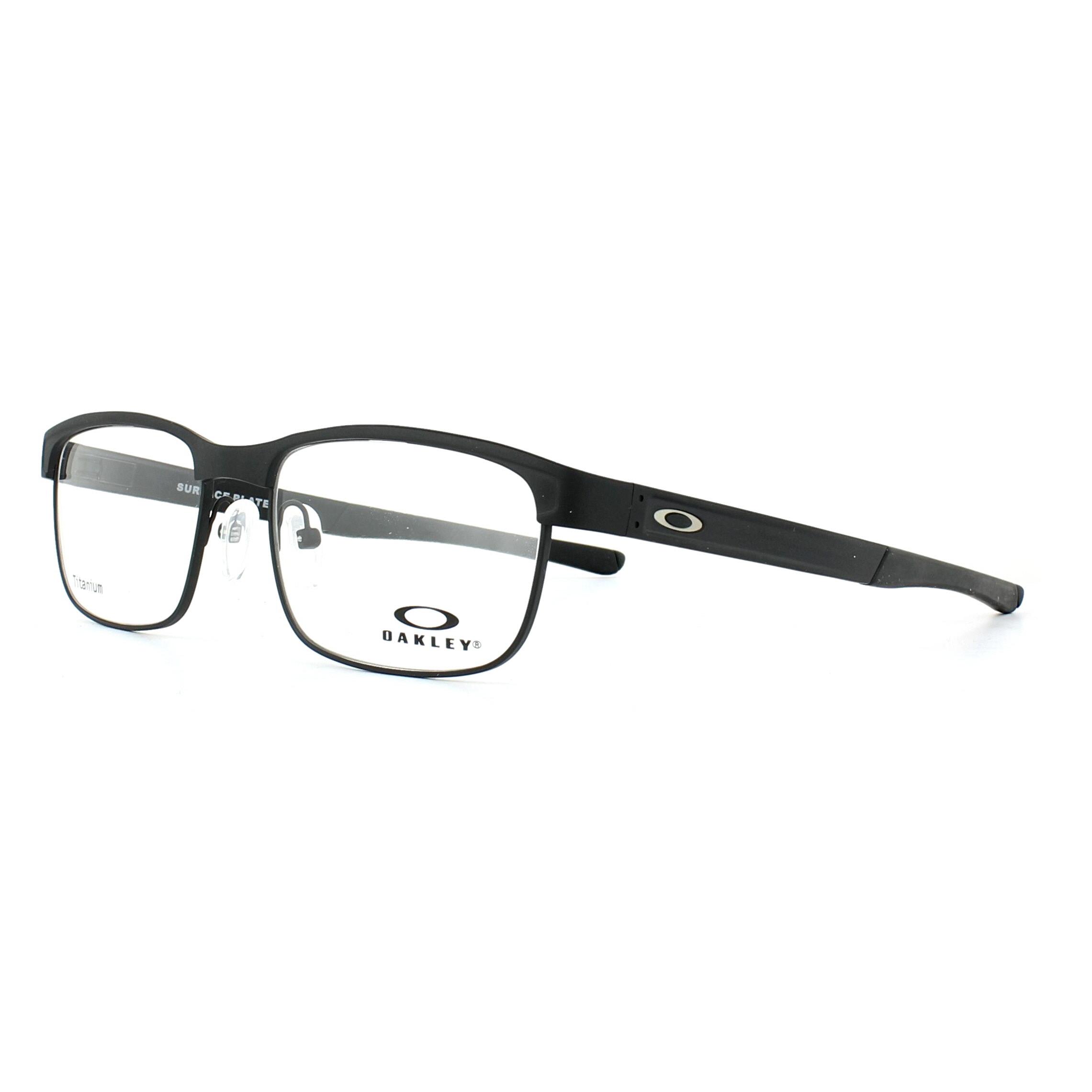 7136392bd641d Sentinel Thumbnail 1. Sentinel Oakley Glasses Frames Surface Plate  OX5132-01 Matt Black 52mm Mens