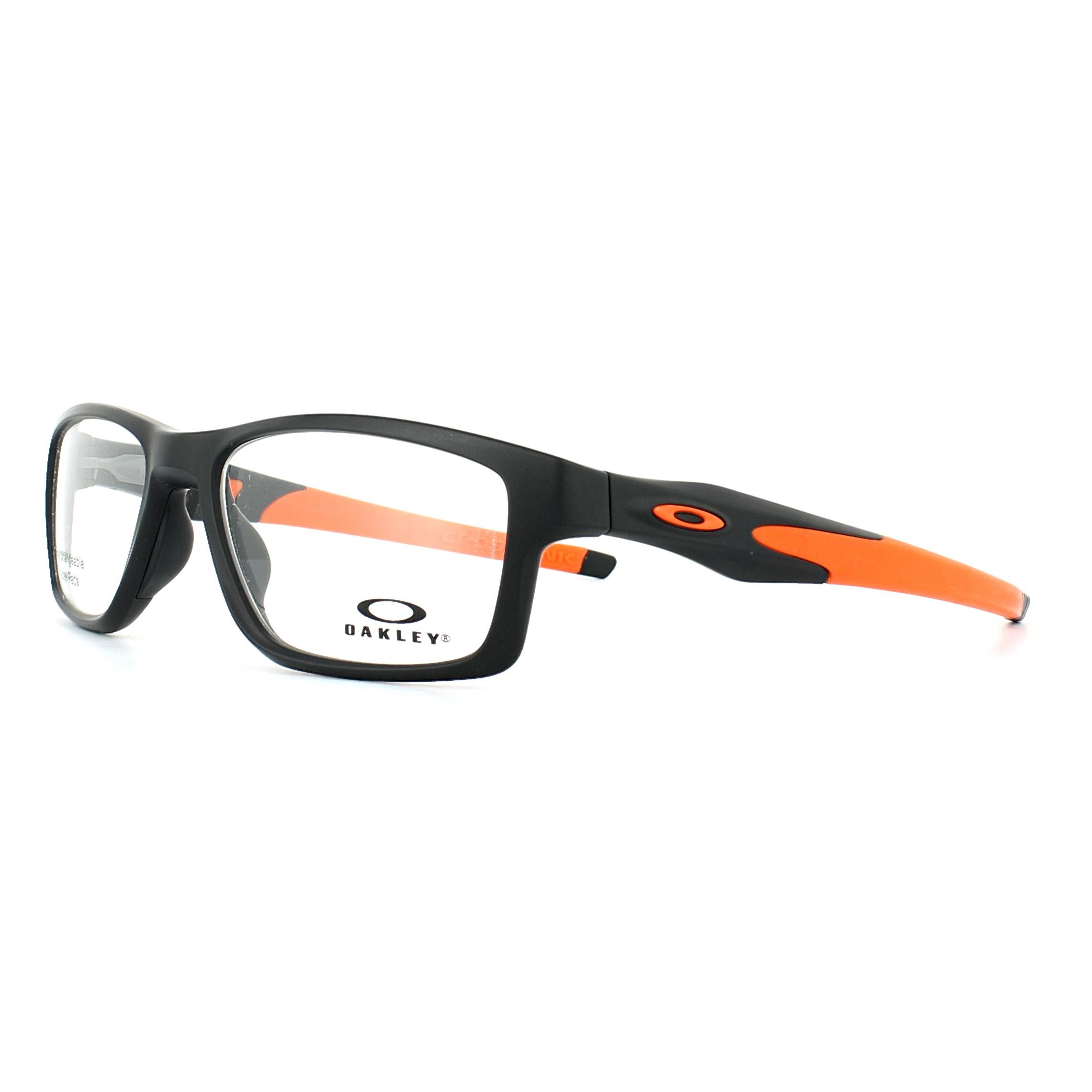 Sentinel Oakley Glasses Frames Crosslink Trubridge OX8090-01 Satin Black  55mm Mens b6cdaf192eb