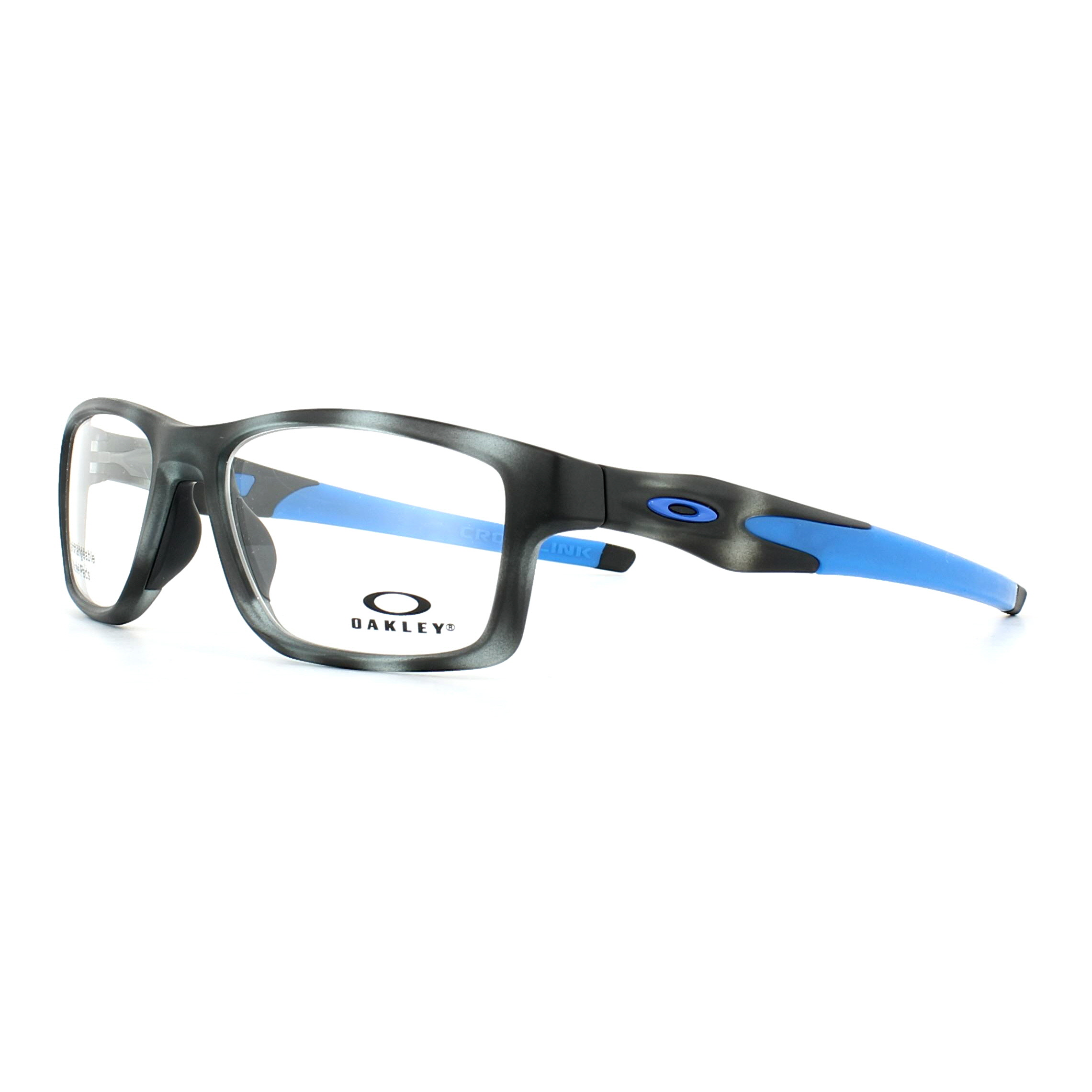 c3889263c7 Sentinel Oakley Glasses Frames Crosslink Trubridge OX8090-06 Matt Grey  Tortoise 55mm Mens