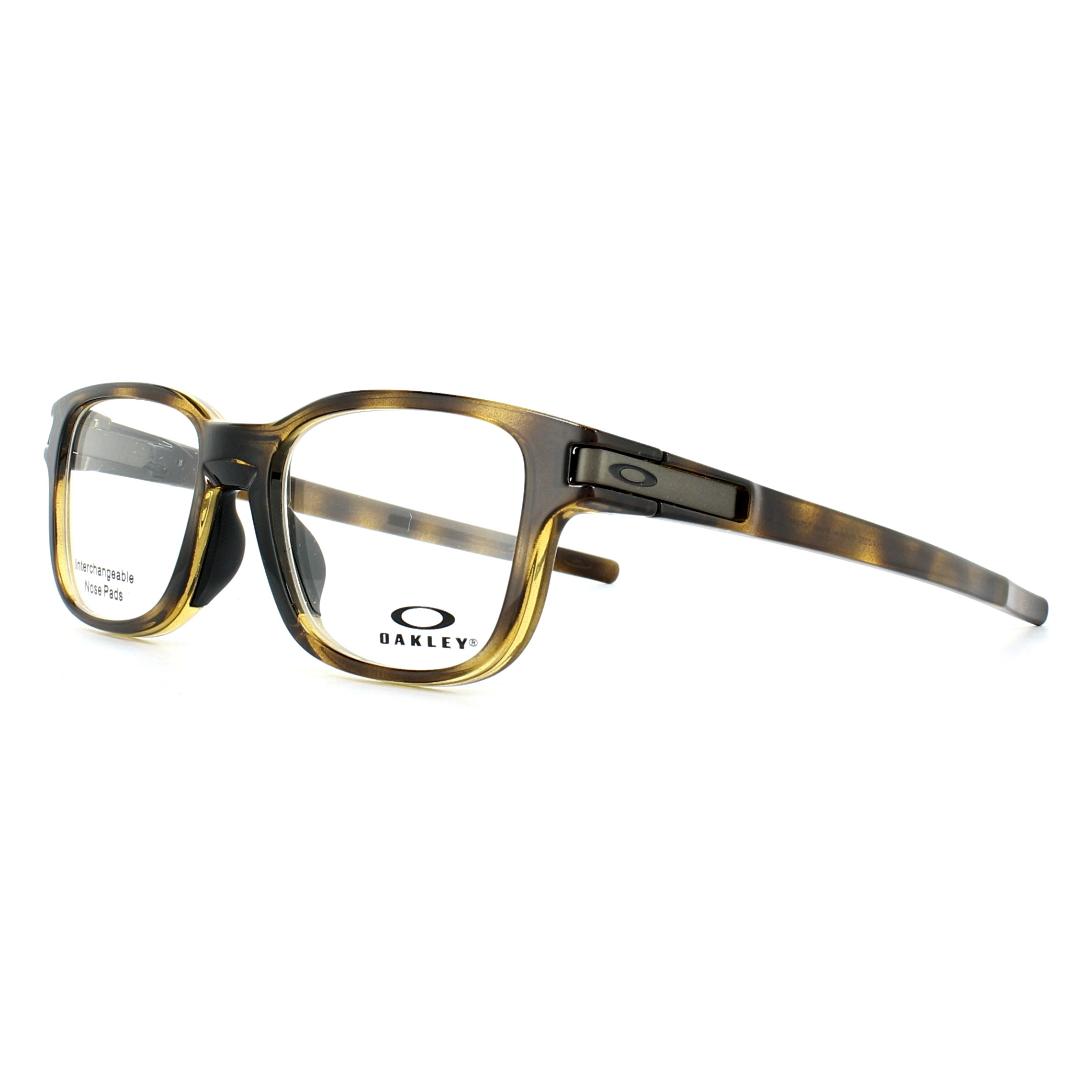 Oakley Glasses Frames Latch SS Trubridge OX8114-02 Polished Brown ...