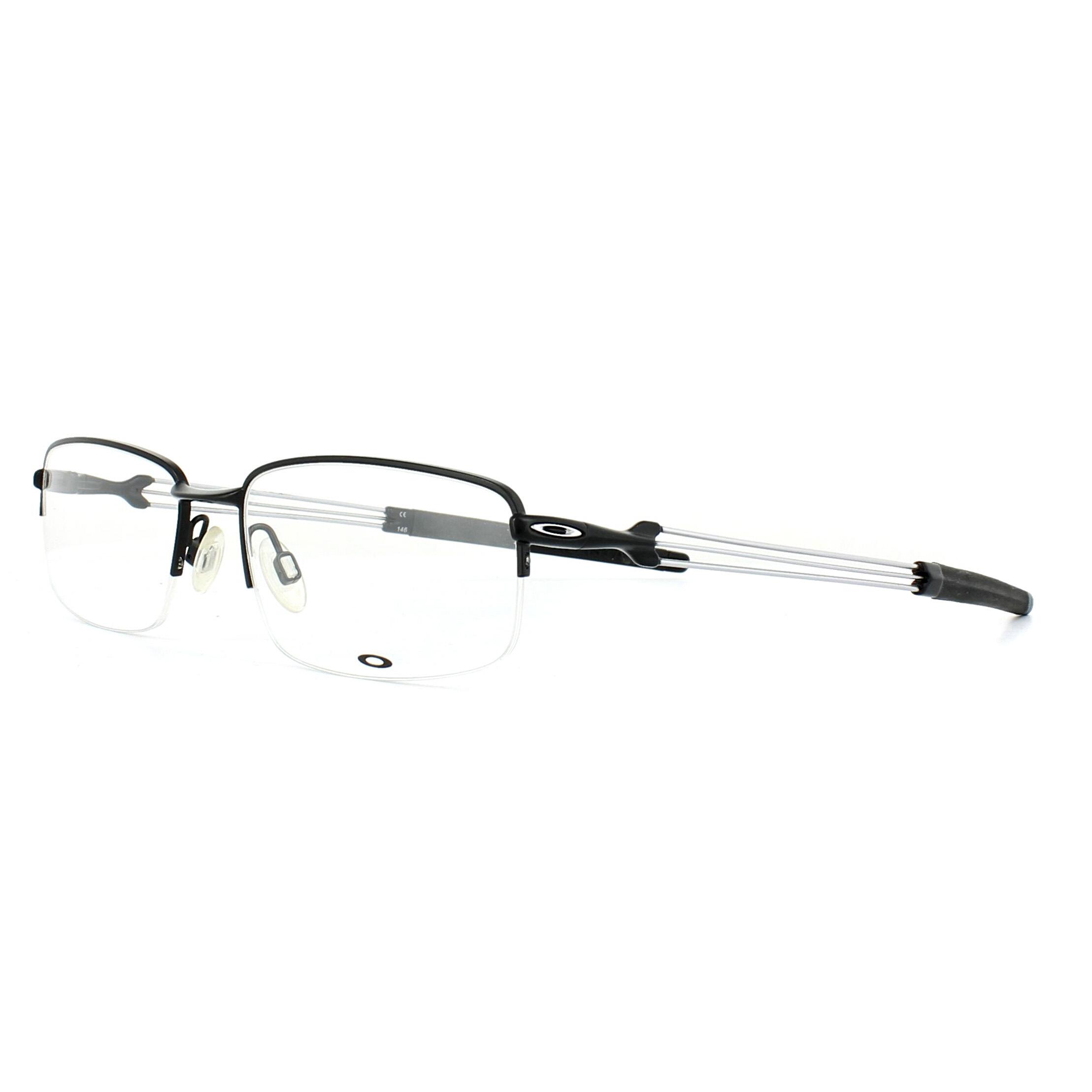 1ced581aea450 Sentinel Oakley Glasses Frames Ballista OX5082-01 Satin Black 55mm Mens