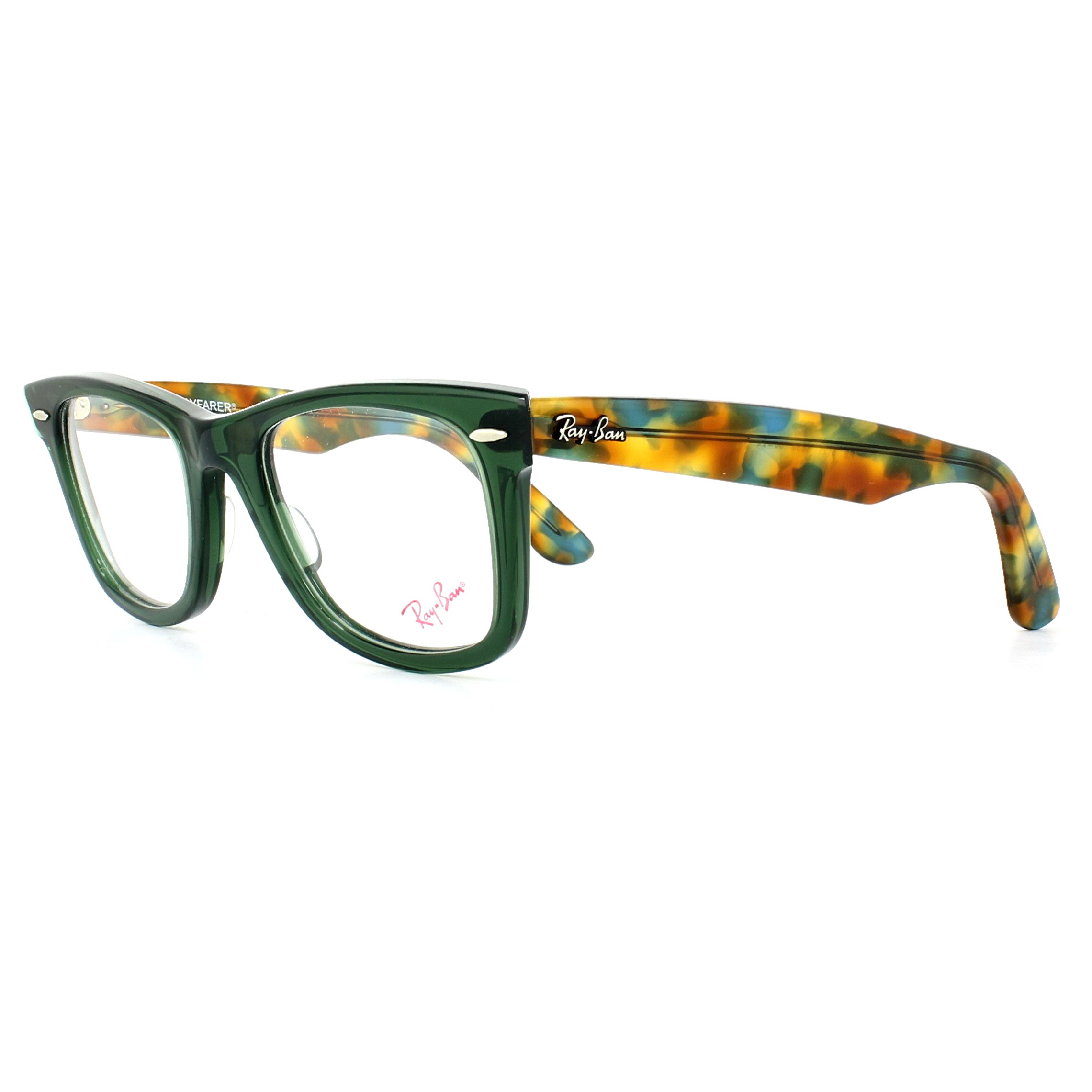 Ray-Ban Glasses Frames 5121 Original Wayfarer 5630 Opal Green ...