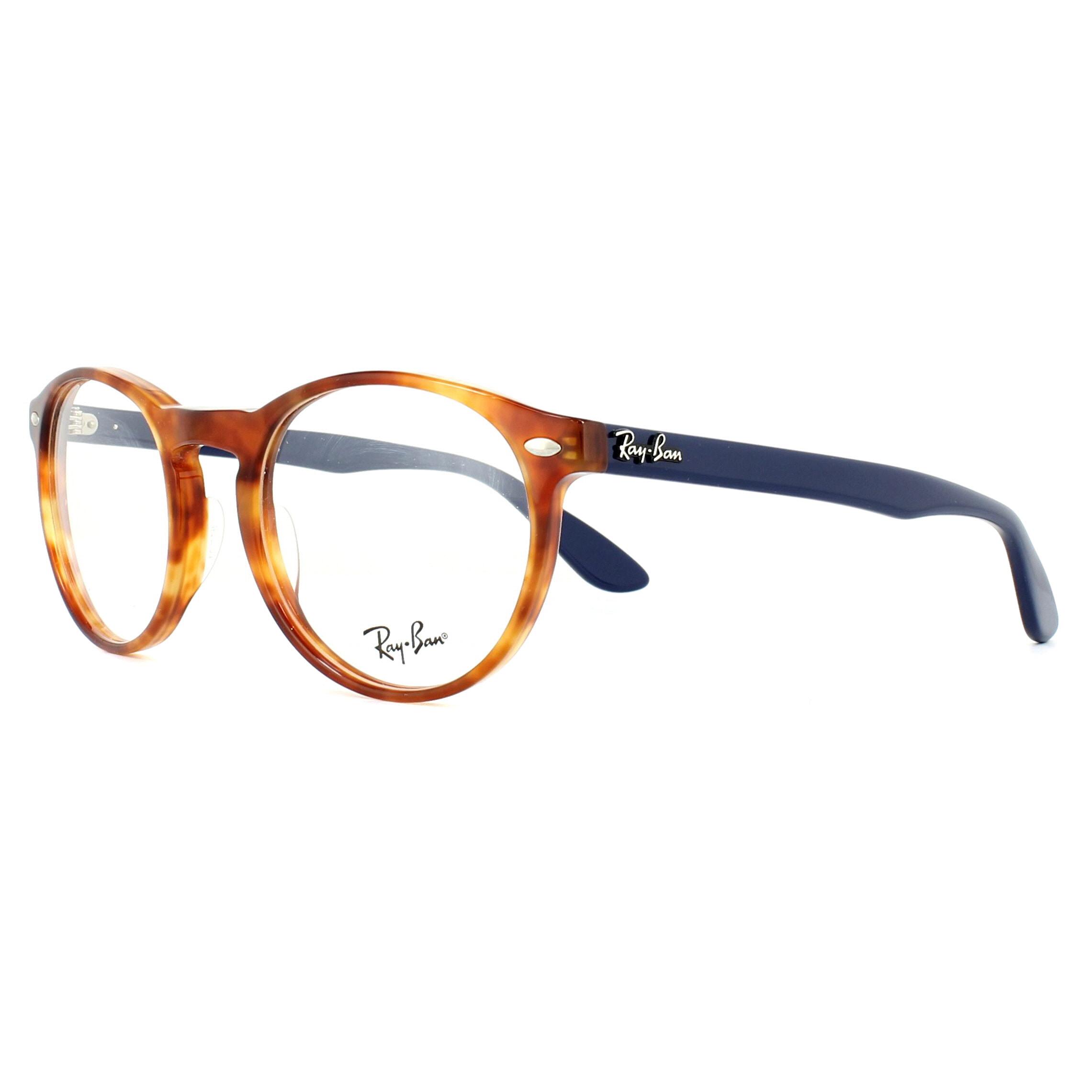 Ray-Ban Glasses Frames 5283 5609 Yellow Tortoise 51mm Mens Womens ...