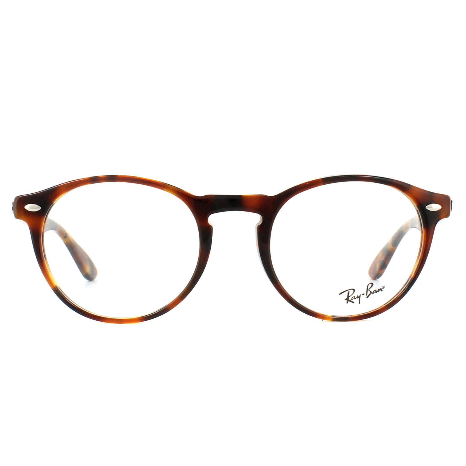b9050bf7519 Sentinel Ray-Ban Glasses Frames 5283 5675 Top Havana Brown Yellow 51mm Mens  Womens