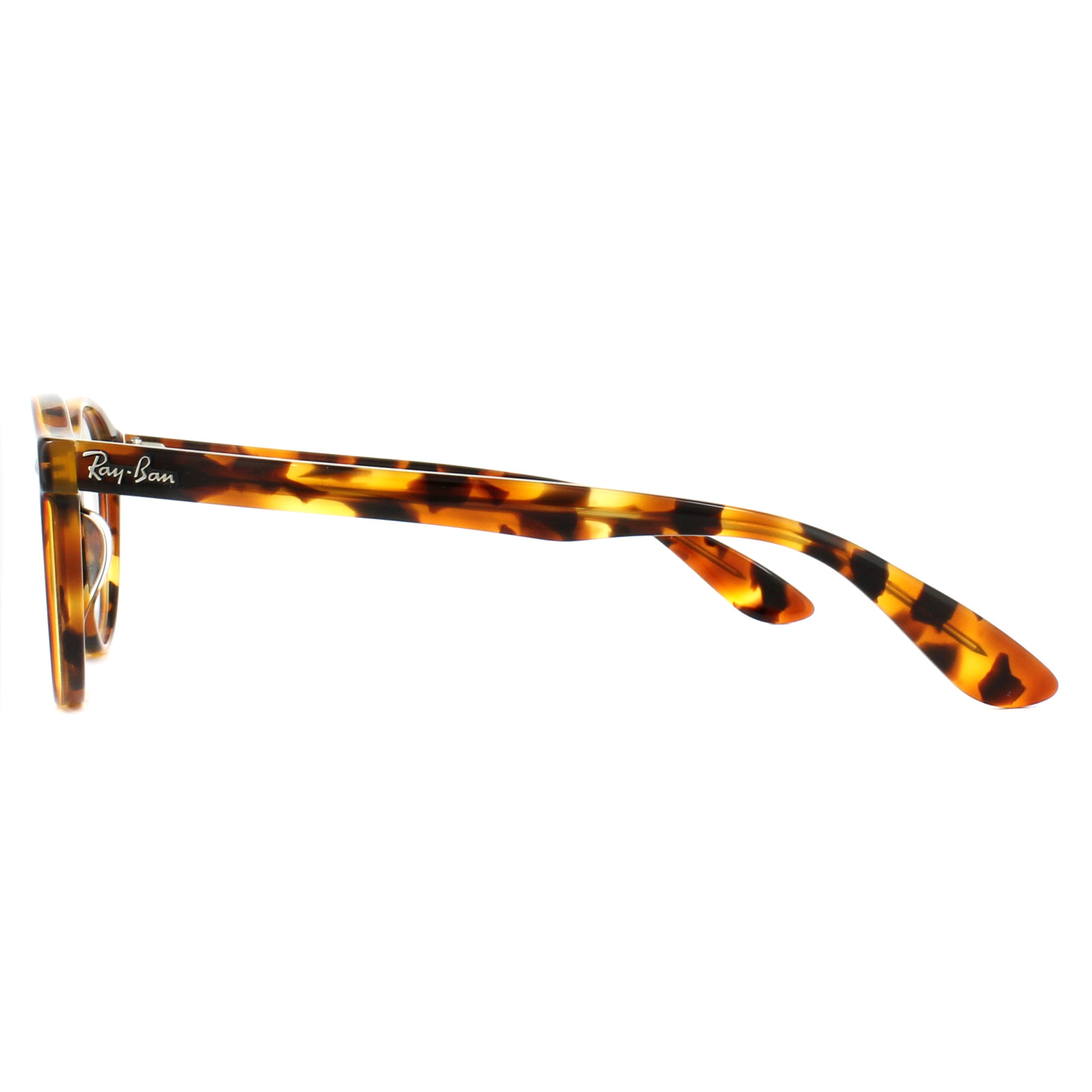 5bd74e5f83 Sentinel Ray-Ban Glasses Frames 5283 5675 Top Havana Brown Yellow 51mm Mens  Womens