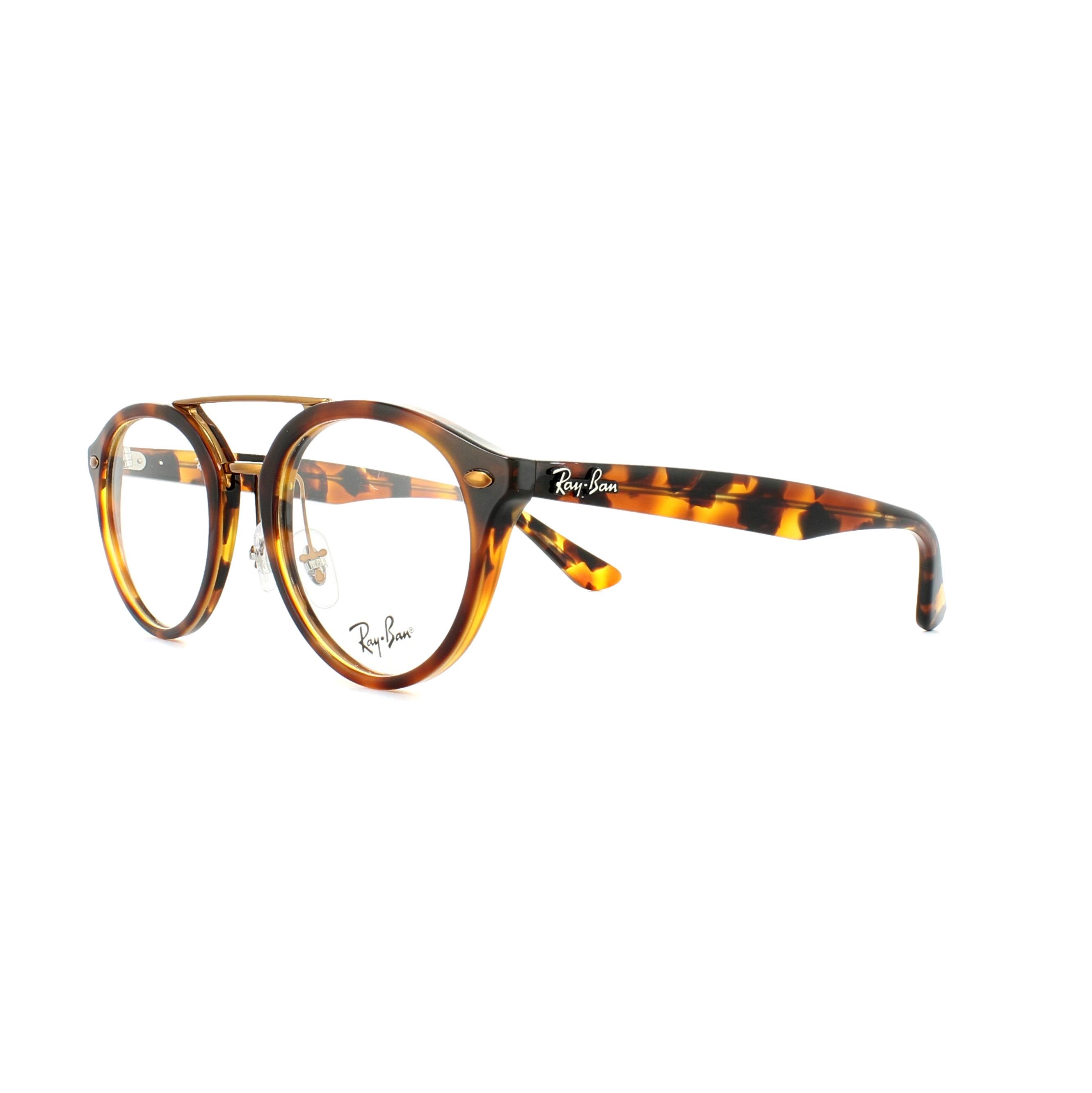 823bfd943389d Sentinel Ray-Ban Glasses Frames 5354 5675 Top Havana Brown Yellow Havana  50mm Mens Womens. Sentinel Thumbnail 2