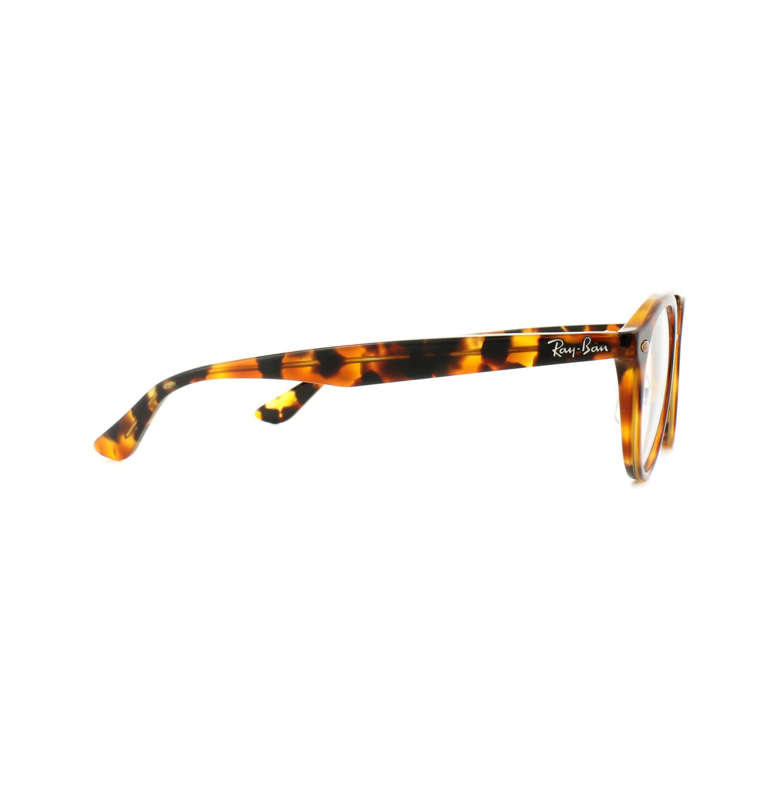 4996927259 Sentinel Ray-Ban Glasses Frames 5354 5675 Top Havana Brown Yellow Havana  50mm Mens Womens