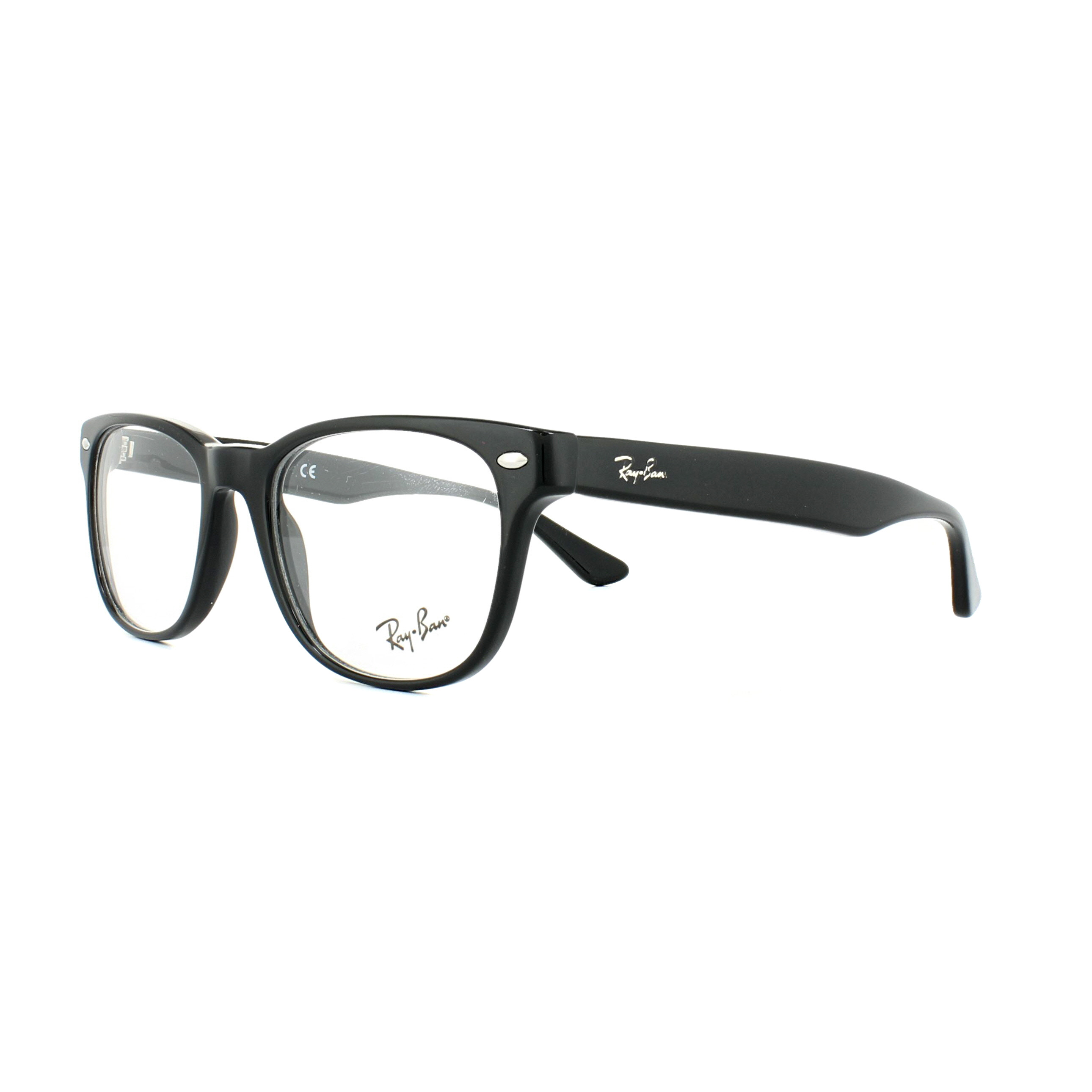 72e53d286d Sentinel Ray-Ban Glasses Frames 5359 2000 Shiny Black 51mm Mens