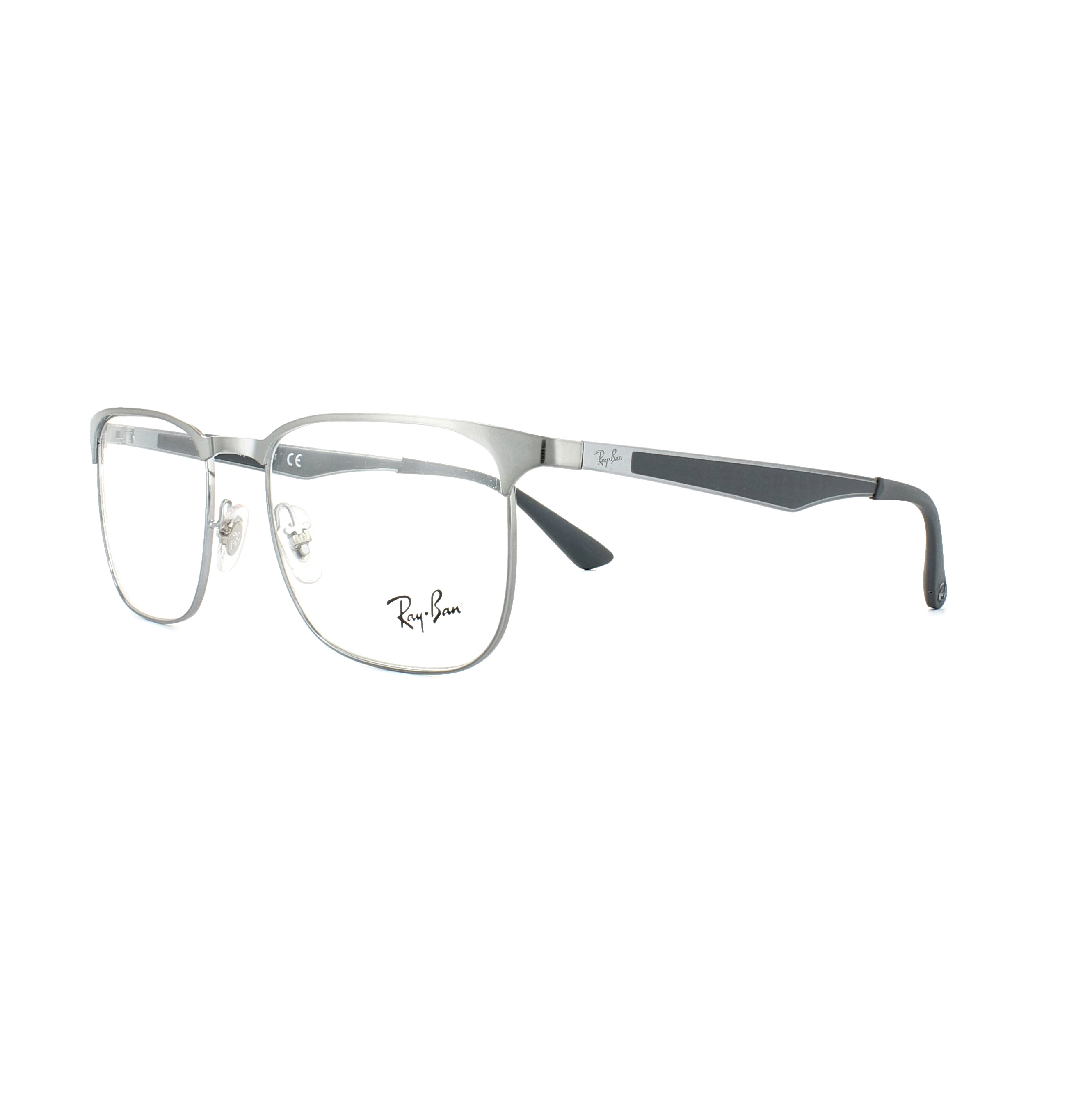 0c6acf97e9 Sentinel Ray-Ban Glasses Frames 6363 2553 Gunmetal 52mm Mens Womens