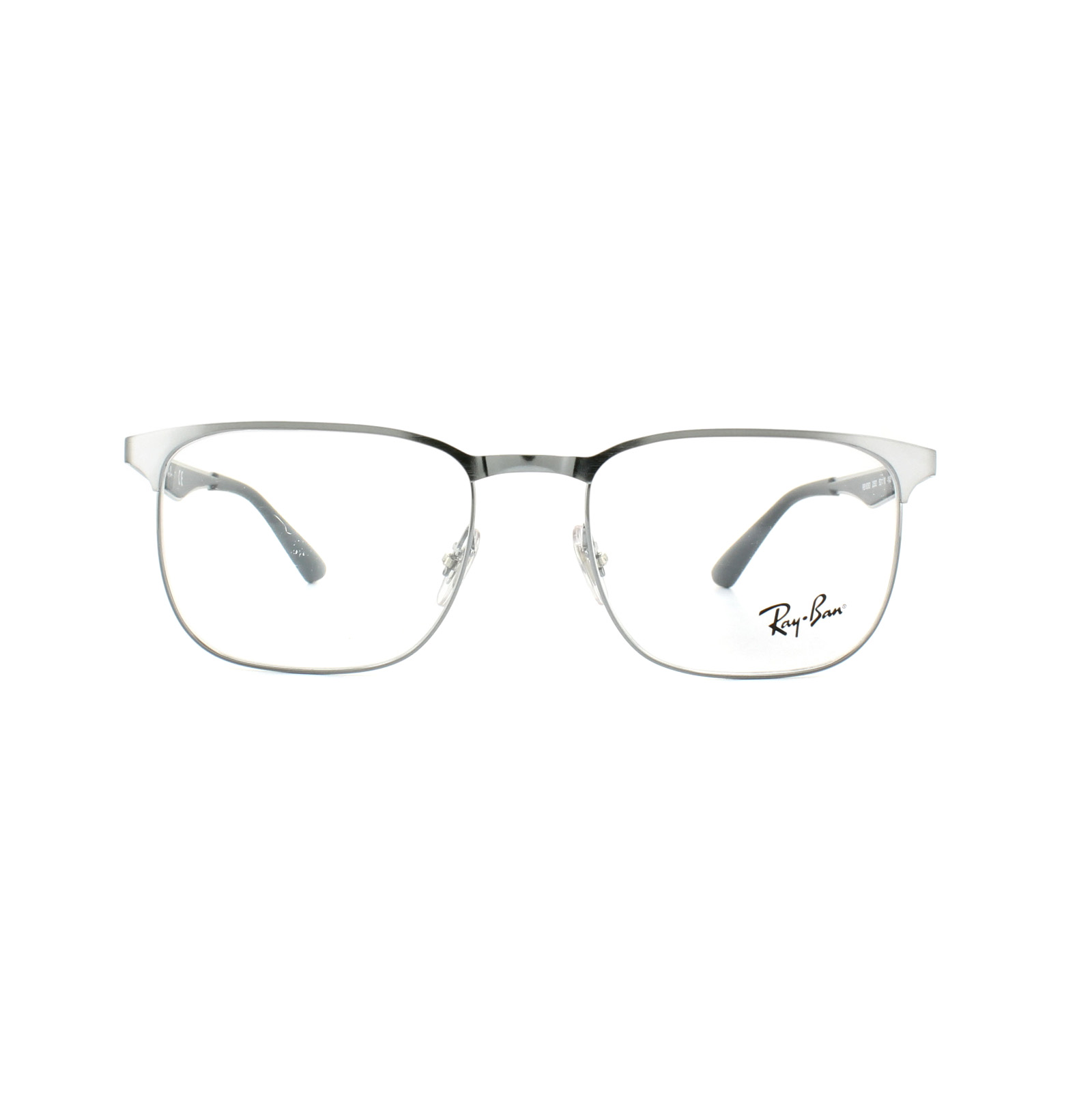 Ray-Ban Glasses Frames 6363 2553 Gunmetal 54mm Mens Womens ...