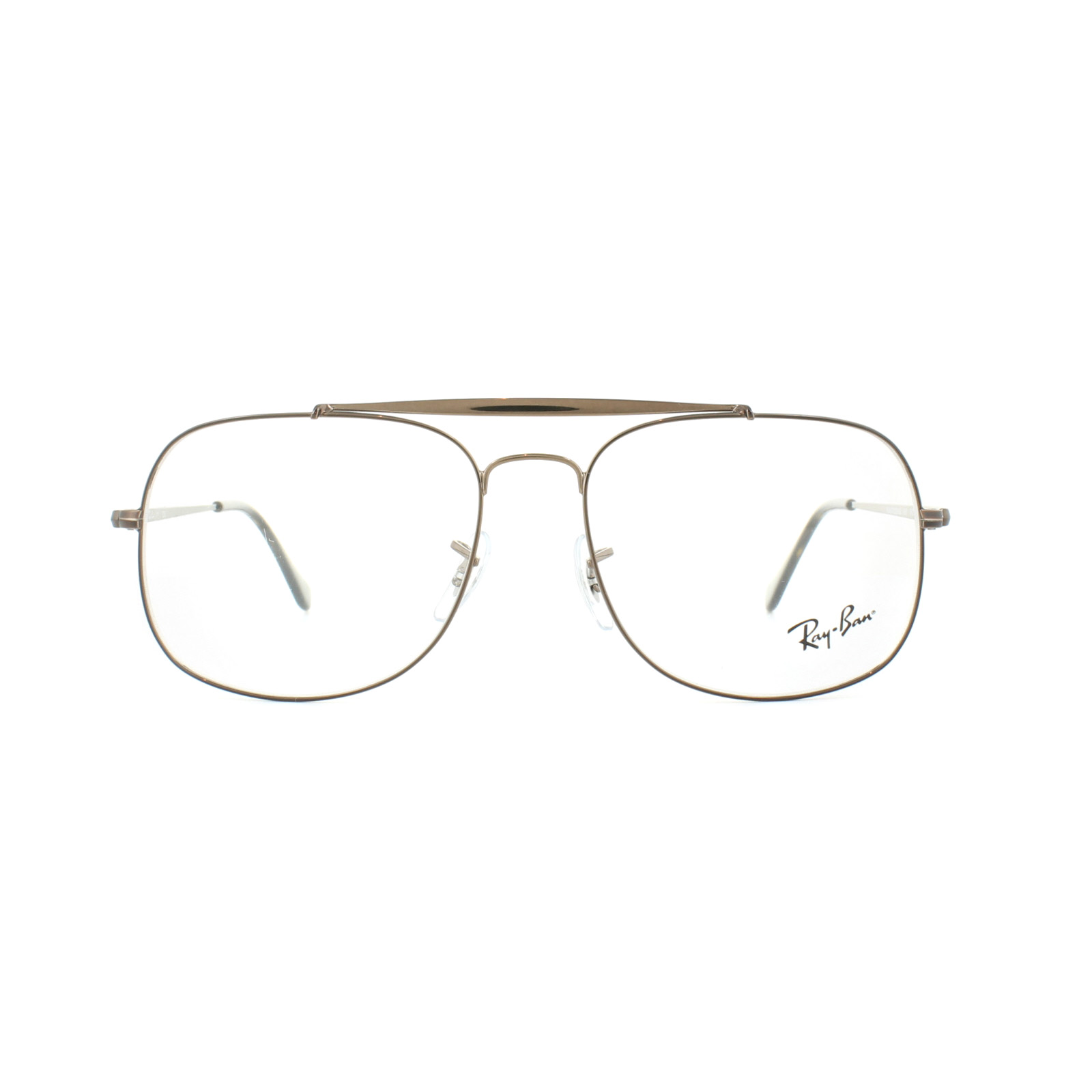 c44d4075cfe Ray-Ban Glasses Frames 6389 The General 2531 Light Brown 57mm Mens ...