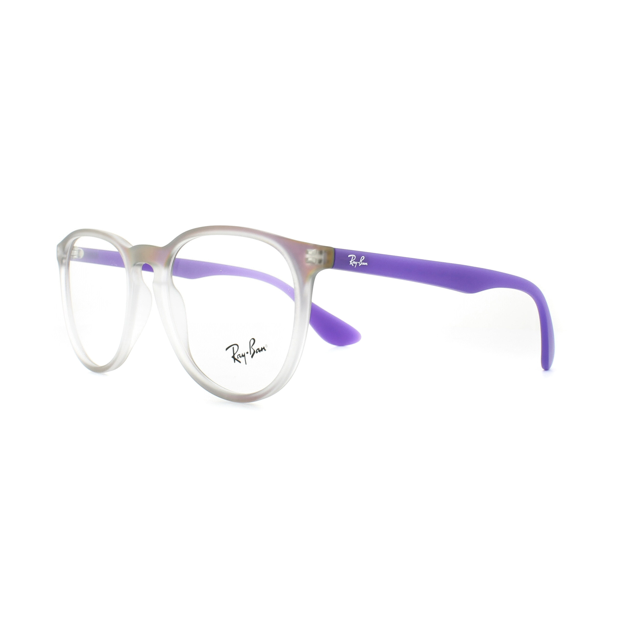 7e778d21f8 Sentinel Ray-Ban Glasses Frames 7046 Erika 5600 Violet Fade Rubber 51mm  Womens