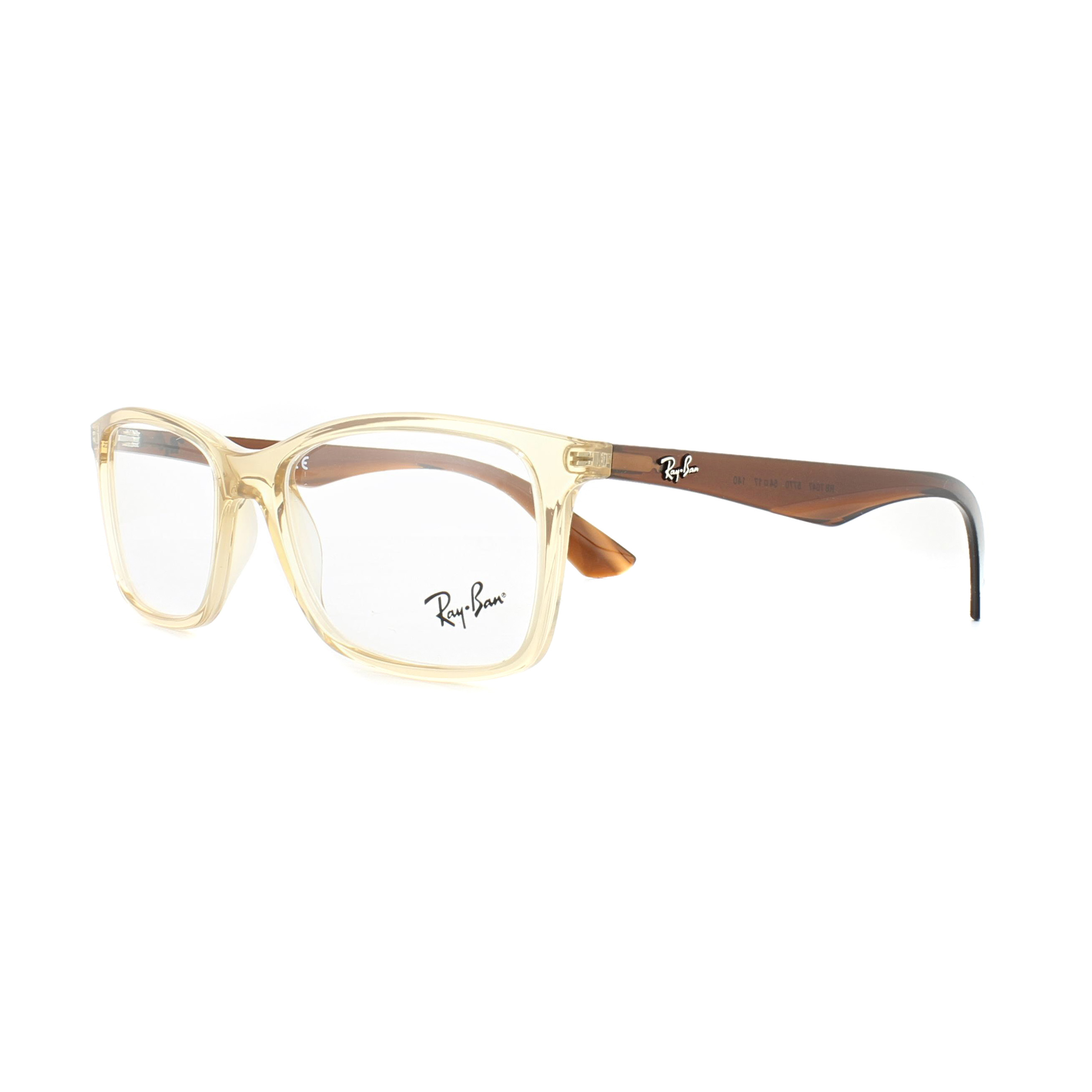 5e3f6cbd1e8 Sentinel Ray-Ban Glasses Frames 7047 5770 Transparent Beige 54mm Mens