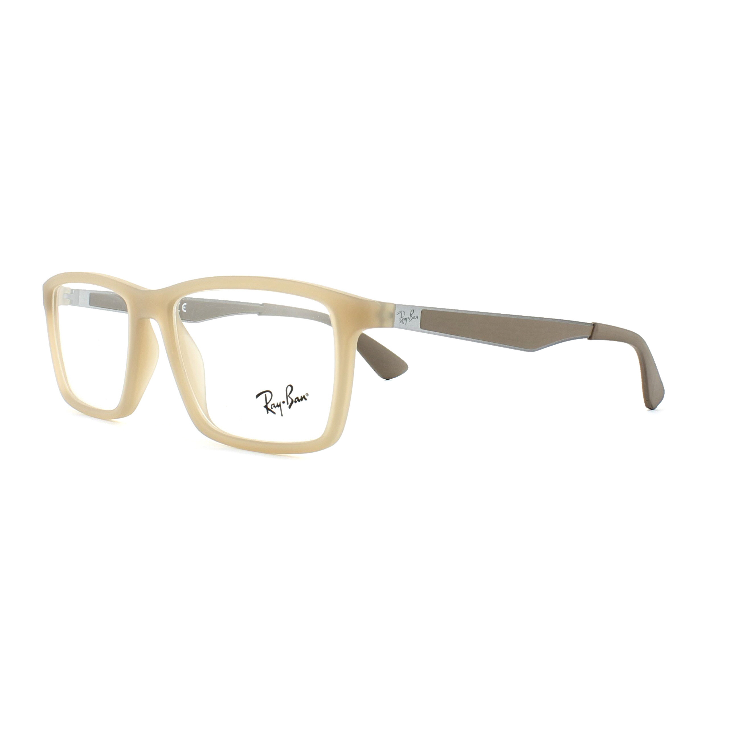 964f637da5 Sentinel Ray-Ban Glasses Frames 7056 5646 Matt Beige 53mm Mens