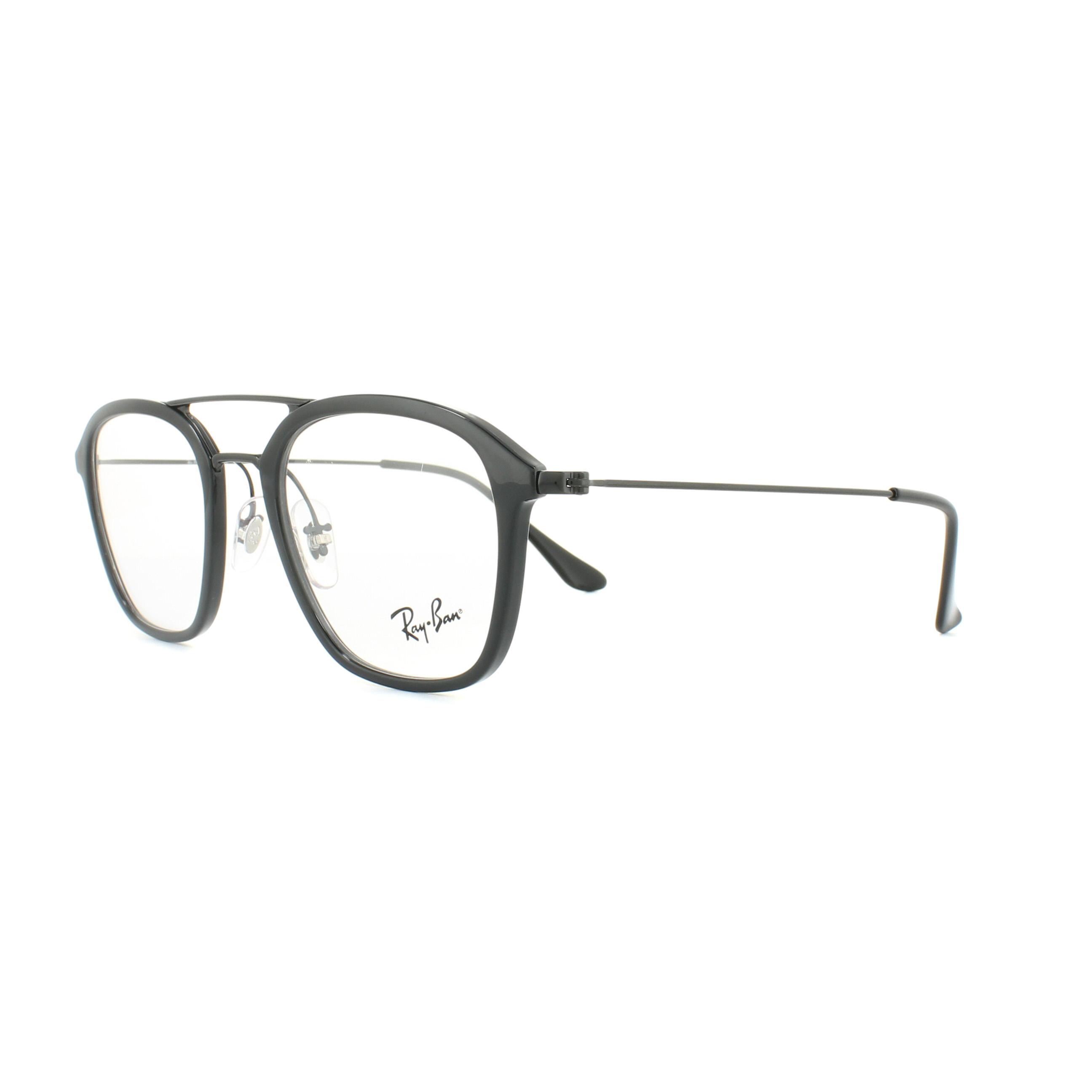 b03d47dd5c Ray-Ban Glasses Frames 7098 5725 Black 50mm Mens 8053672783650