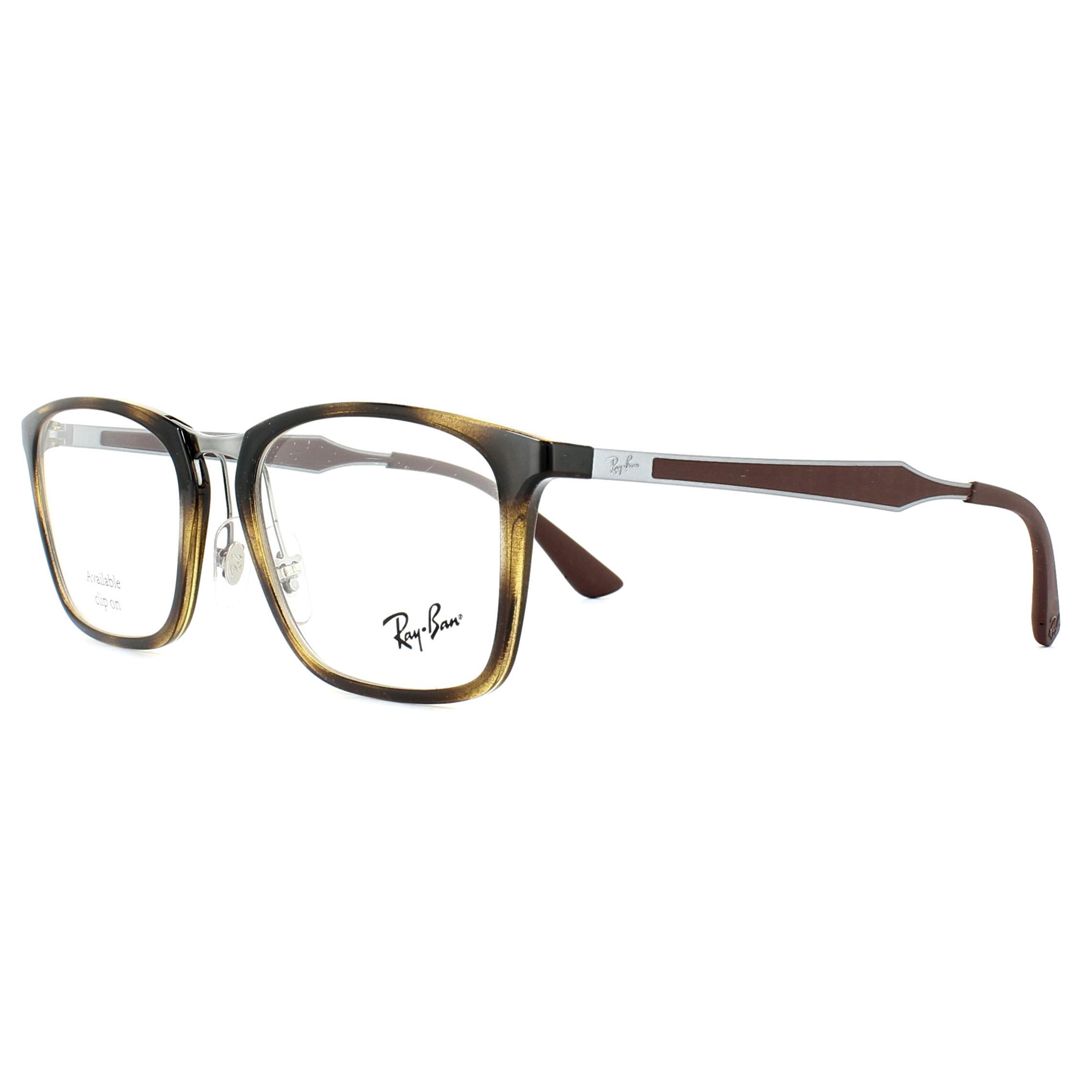 f943bba849 Ray-Ban Glasses Frames 7131 2012 Havana 53mm Mens 8053672769227