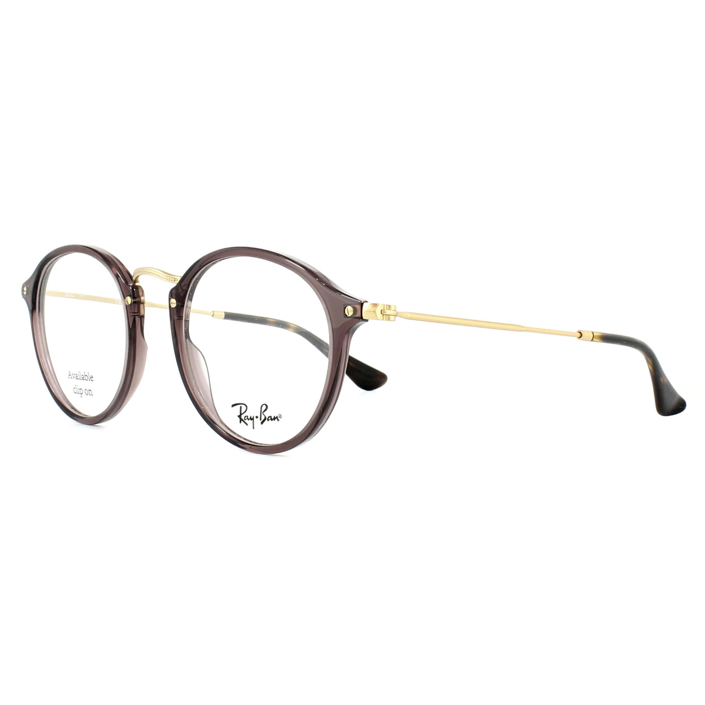 Sentinel Ray-Ban Glasses Frames 2447V 8032 Opal Brown Tortoise 47mm Mens 7abb69e991aa
