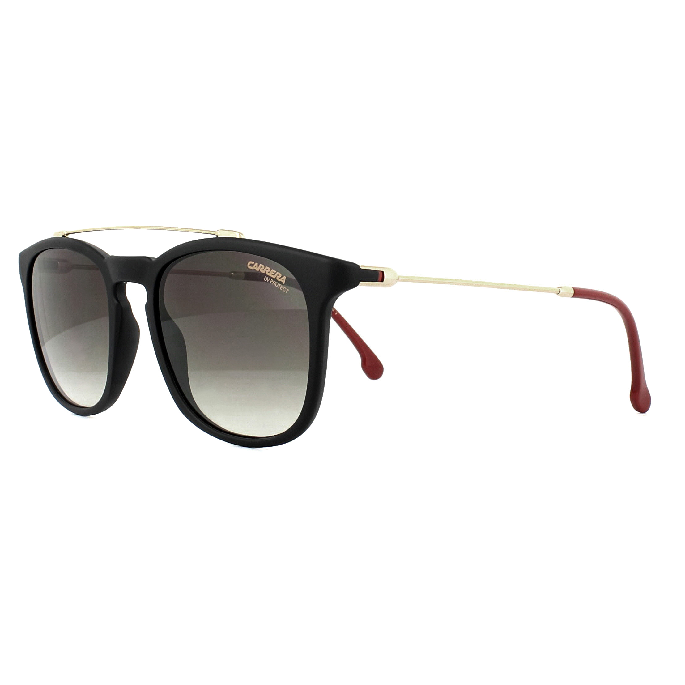 168021ddd94bd Carrera Sunglasses 154 S 003 HA Black Brown Gradient 716736031989