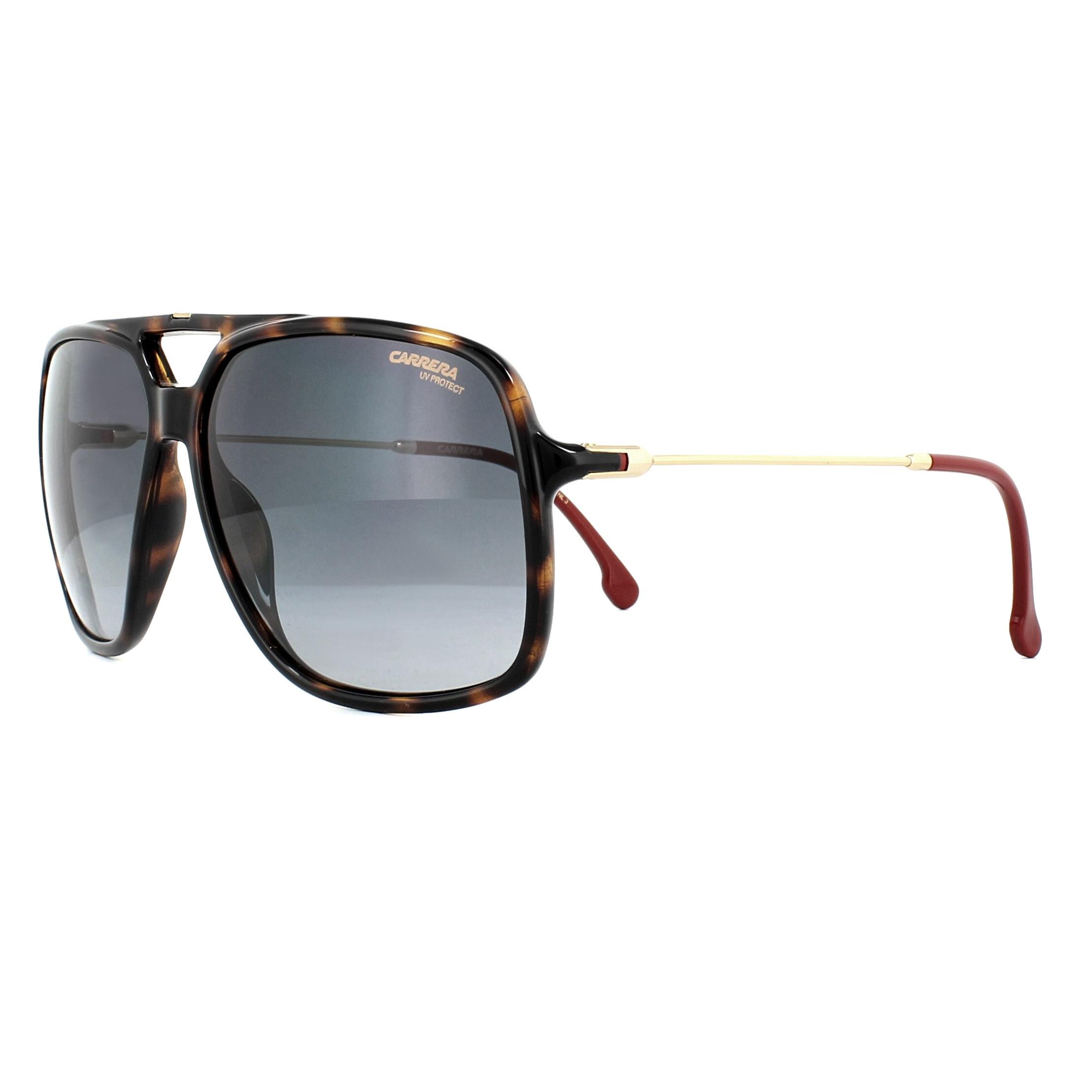 Carrera Sunglasses 155/S 086 9O Havana Gold Grey 716736032030 | eBay