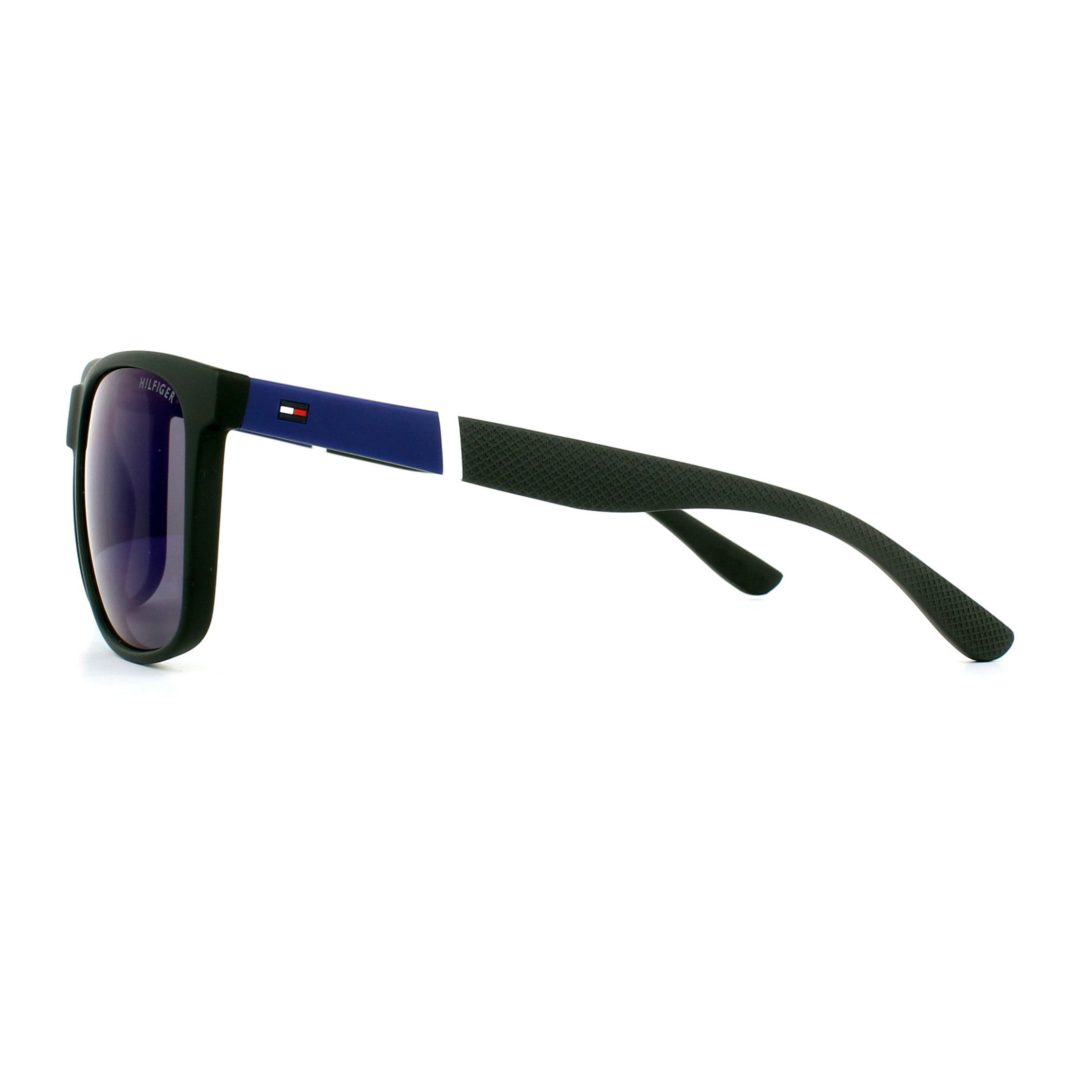 Sentinel Tommy Hilfiger Sunglasses TH 1281 S FMA XT Black Blue Blue Mirror ab9ac76de2