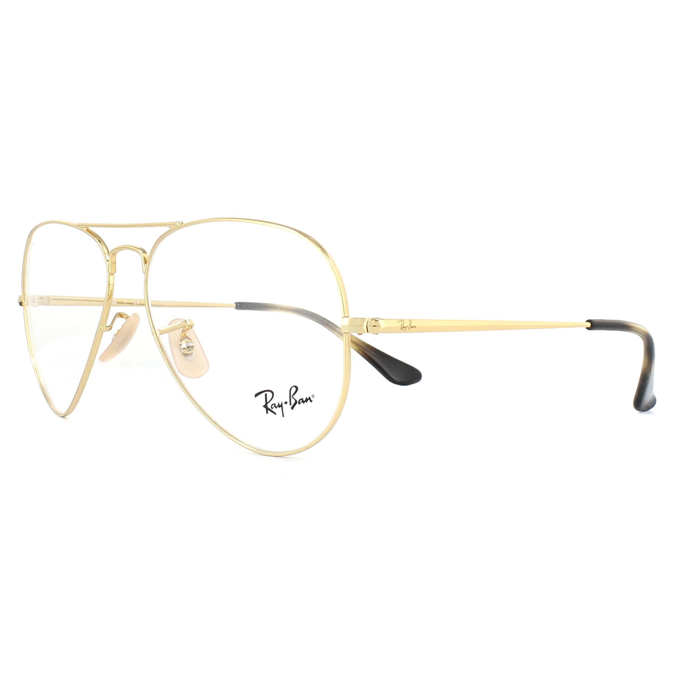 ray ban aviator glasses frames