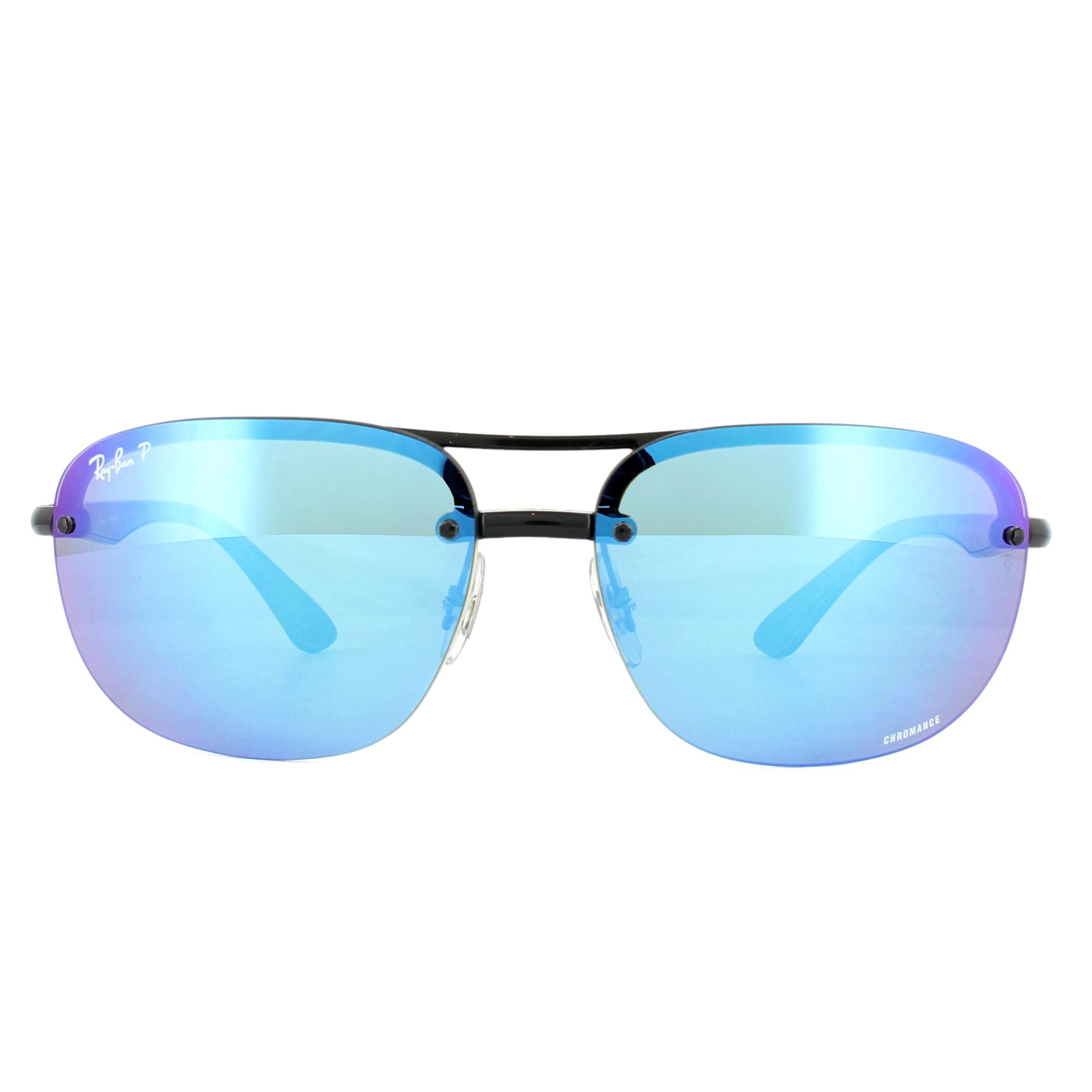 15f00b0190 Sentinel Ray-Ban Sunglasses RB4275CH 601 A1 Black Blue Mirror Polarized  Chromance