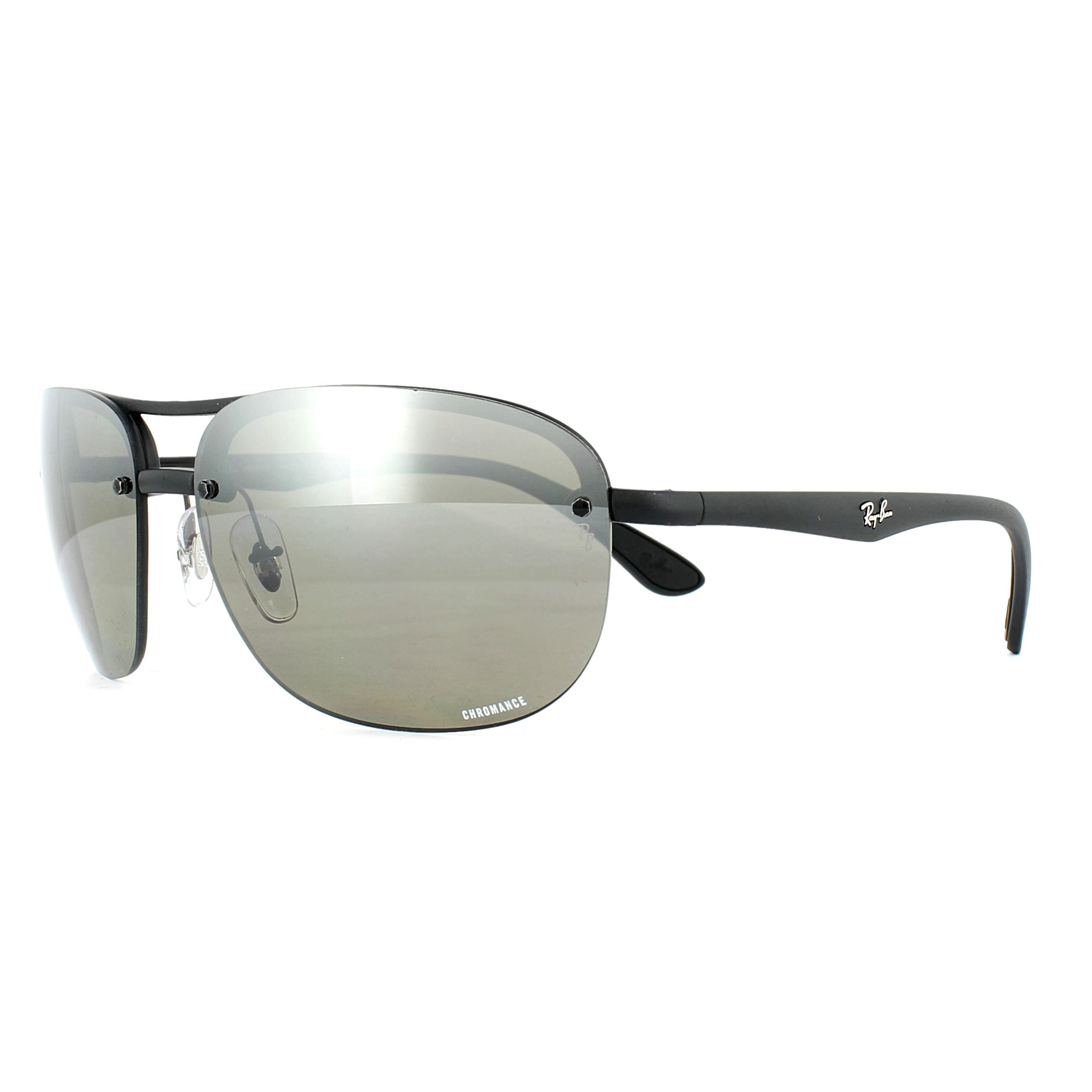 ca45280ace3 Sentinel Ray-Ban Sunglasses RB4275CH 601S5J Black Silver Mirror Polarized  Chromance