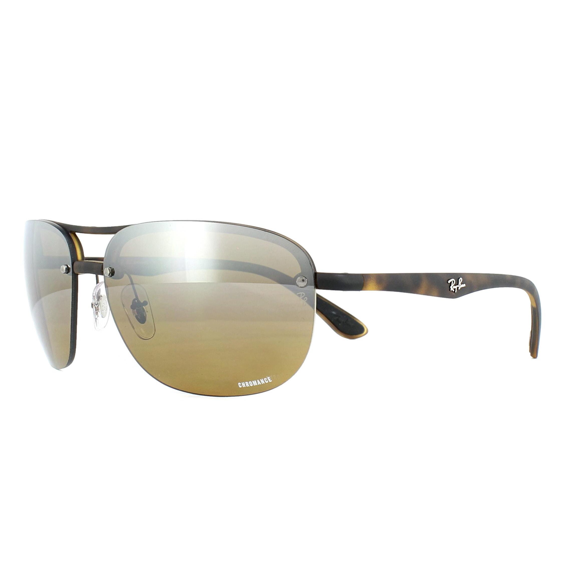 c3ac2a9779 Sentinel Ray-Ban Sunglasses RB4275CH 894 A2 Tortoise Brown Mirror Polarized  Chromance