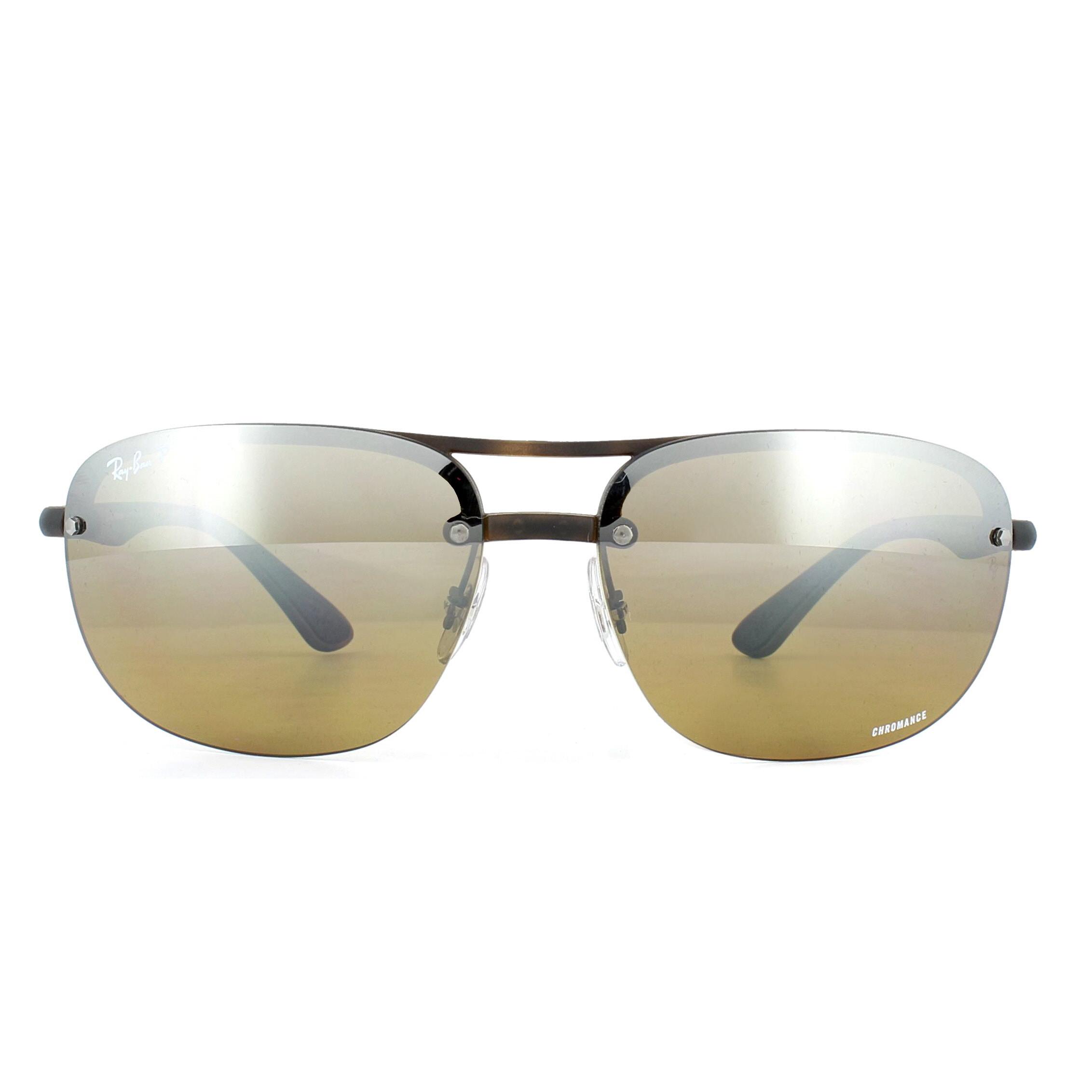 92d503e5a39 Sentinel Ray-Ban Sunglasses RB4275CH 894 A2 Tortoise Brown Mirror Polarized  Chromance