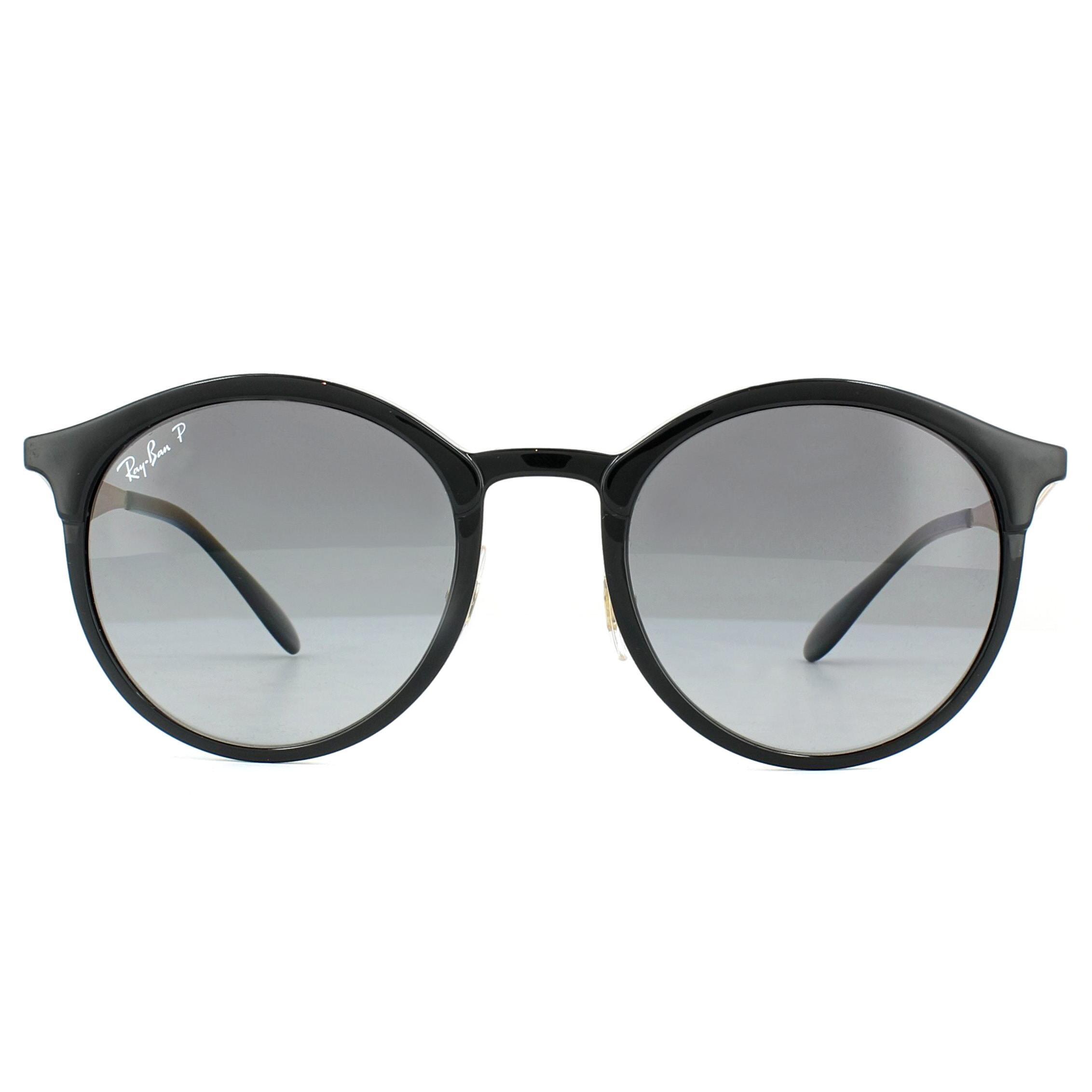 6d88a199c12f90 Sentinel Ray-Ban Sunglasses Emma RB4277 6306T3 Black Grey Gradient Polarized