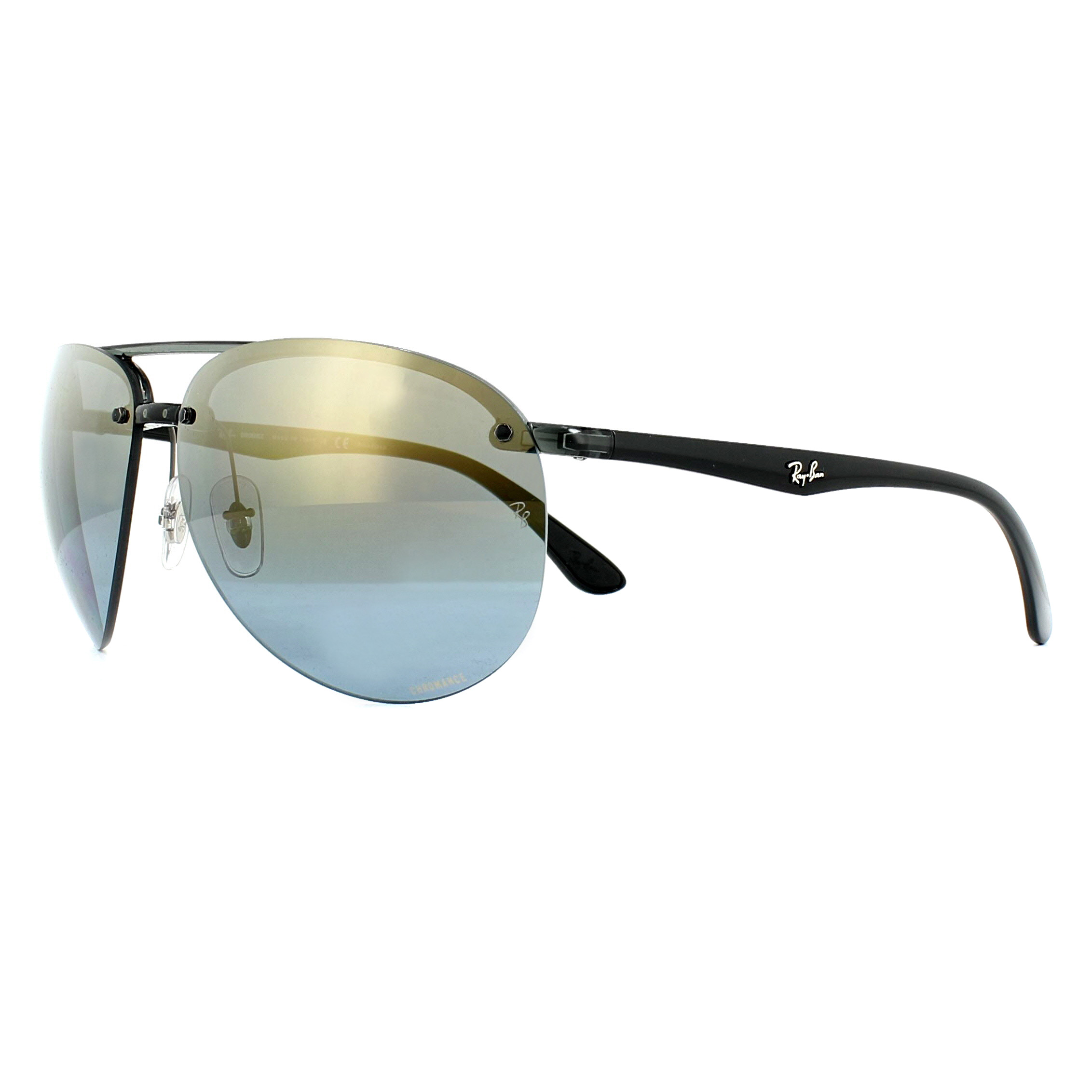 Sentinel Ray-Ban Sunglasses RB4293CH 876 J0 Grey Blue Gradient Mirror  Polarized Chromance 9eafcded86