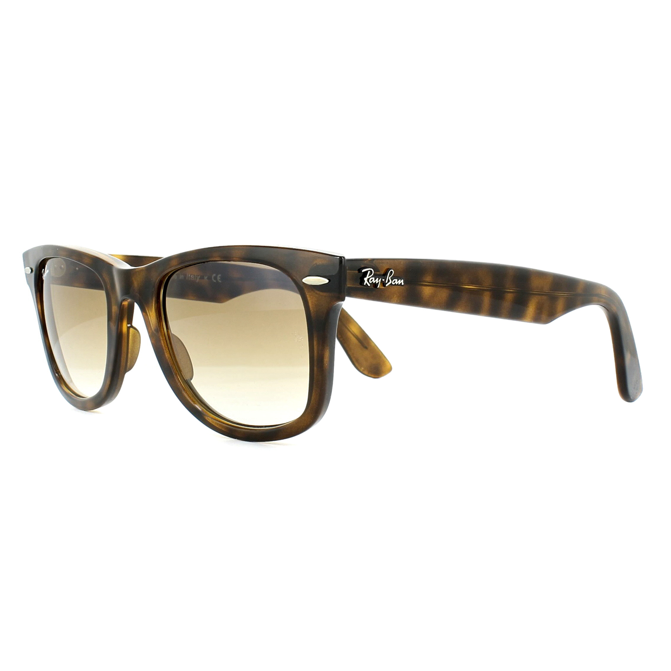 931bdce190686 Sentinel Ray-Ban Sunglasses Wayfarer Ease RB4340 710 51 Tortoise Light Brown  Gradient