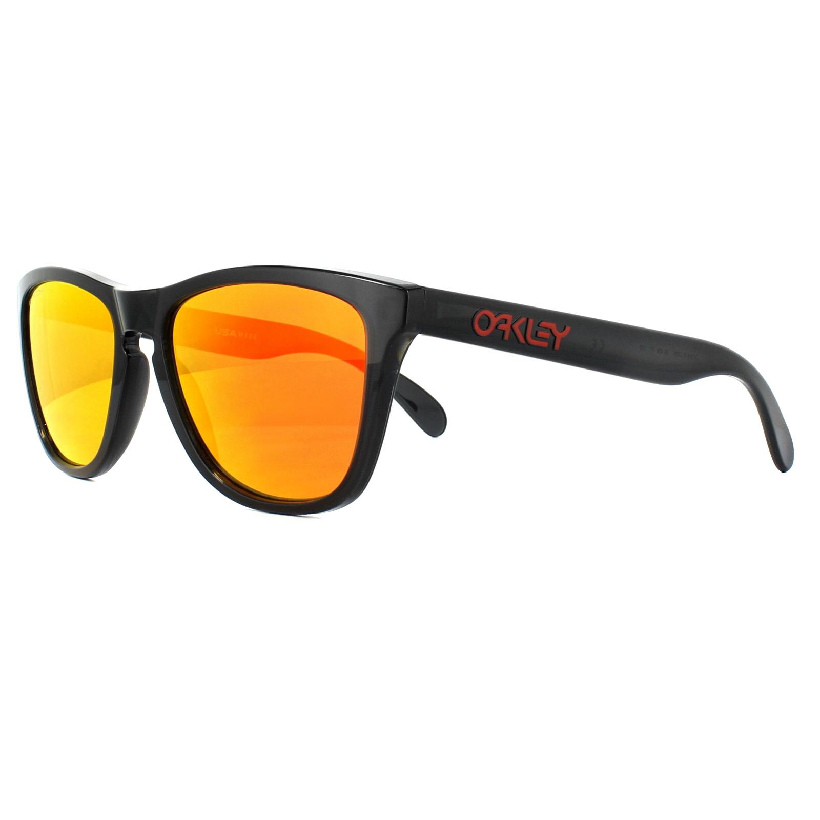 c9310d7bfd Sentinel Oakley Sunglasses Frogskins OO9013-C9 Black Ink Prizm Ruby