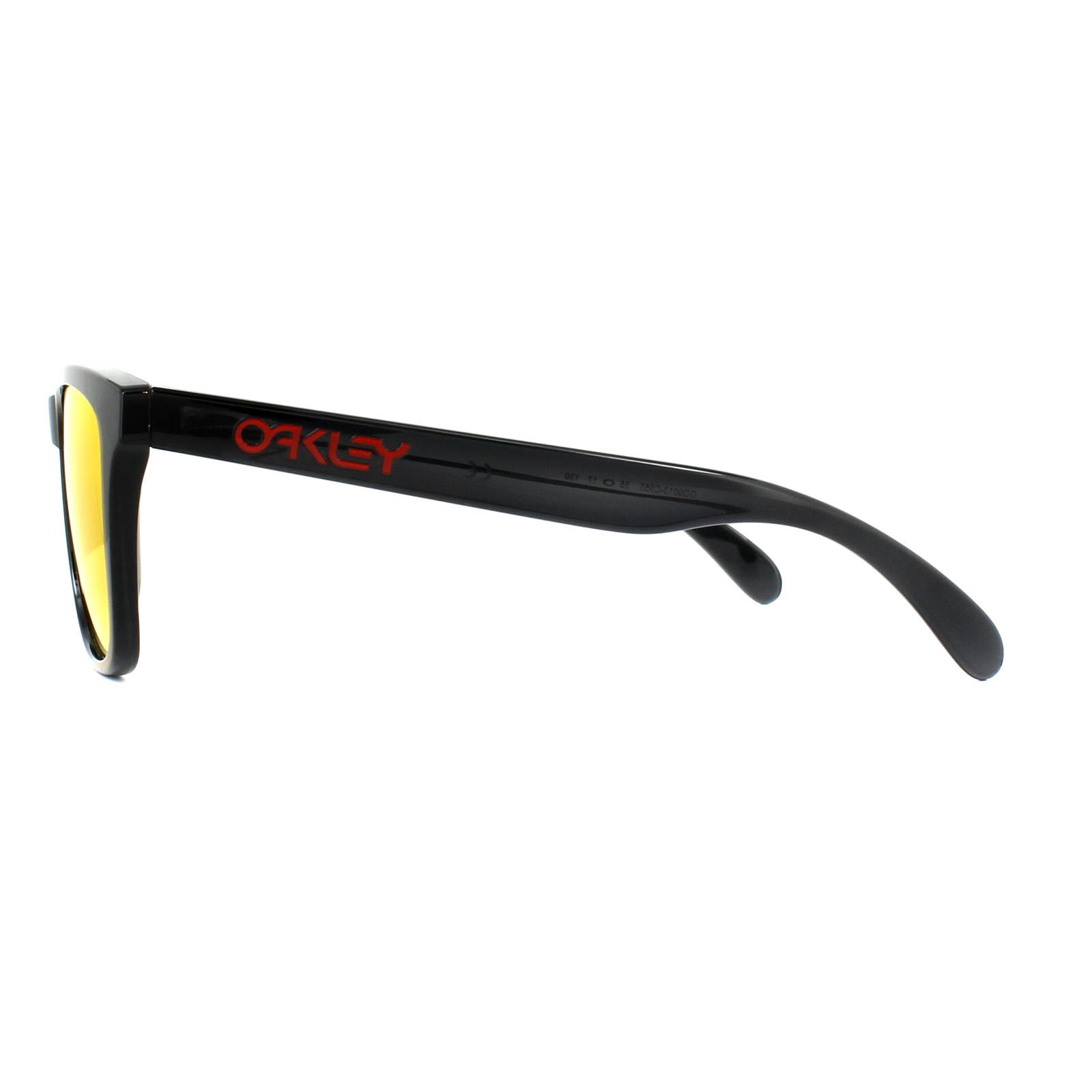 0d38e8eb2ac Sentinel Oakley Sunglasses Frogskins OO9013-C9 Black Ink Prizm Ruby