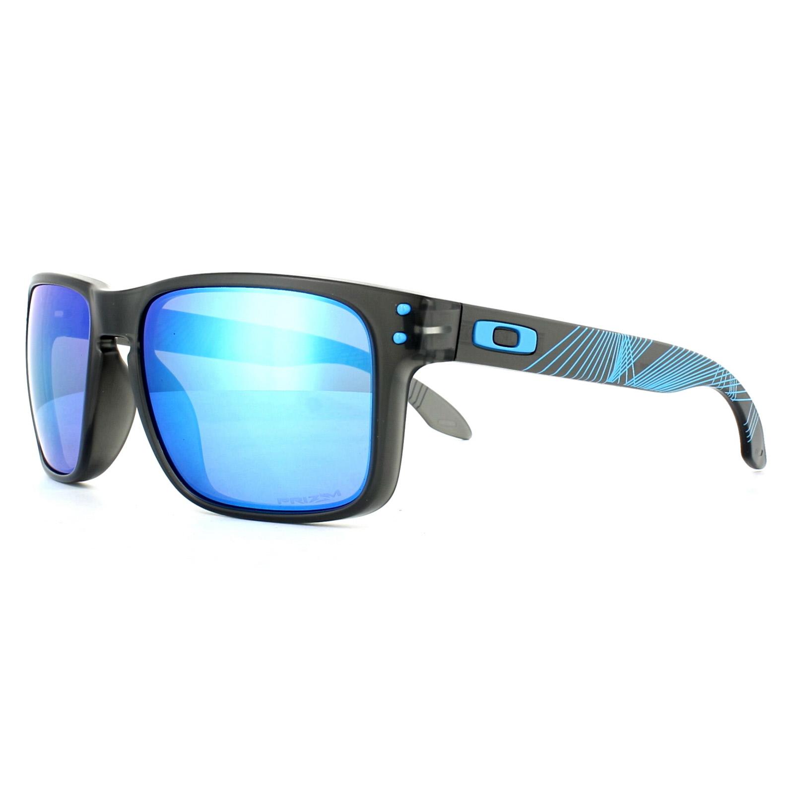 e8a117f0b5 Sentinel Oakley Sunglasses Holbrook OO9102-F2 Matt Grey Smoke Aero Prizm  Sapphire