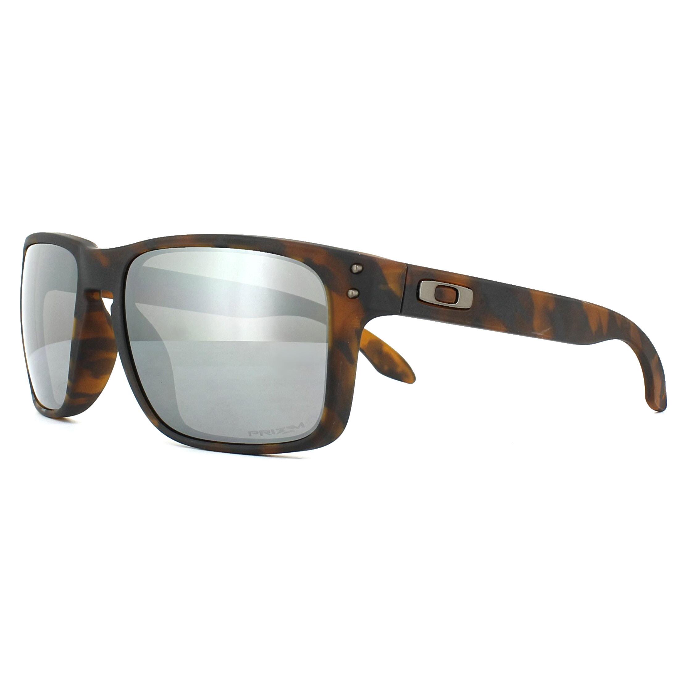 Oakley Sunglasses Holbrook OO9102-F4 Matt Brown Tortoise Prizm Black ... 62d5ab88a9