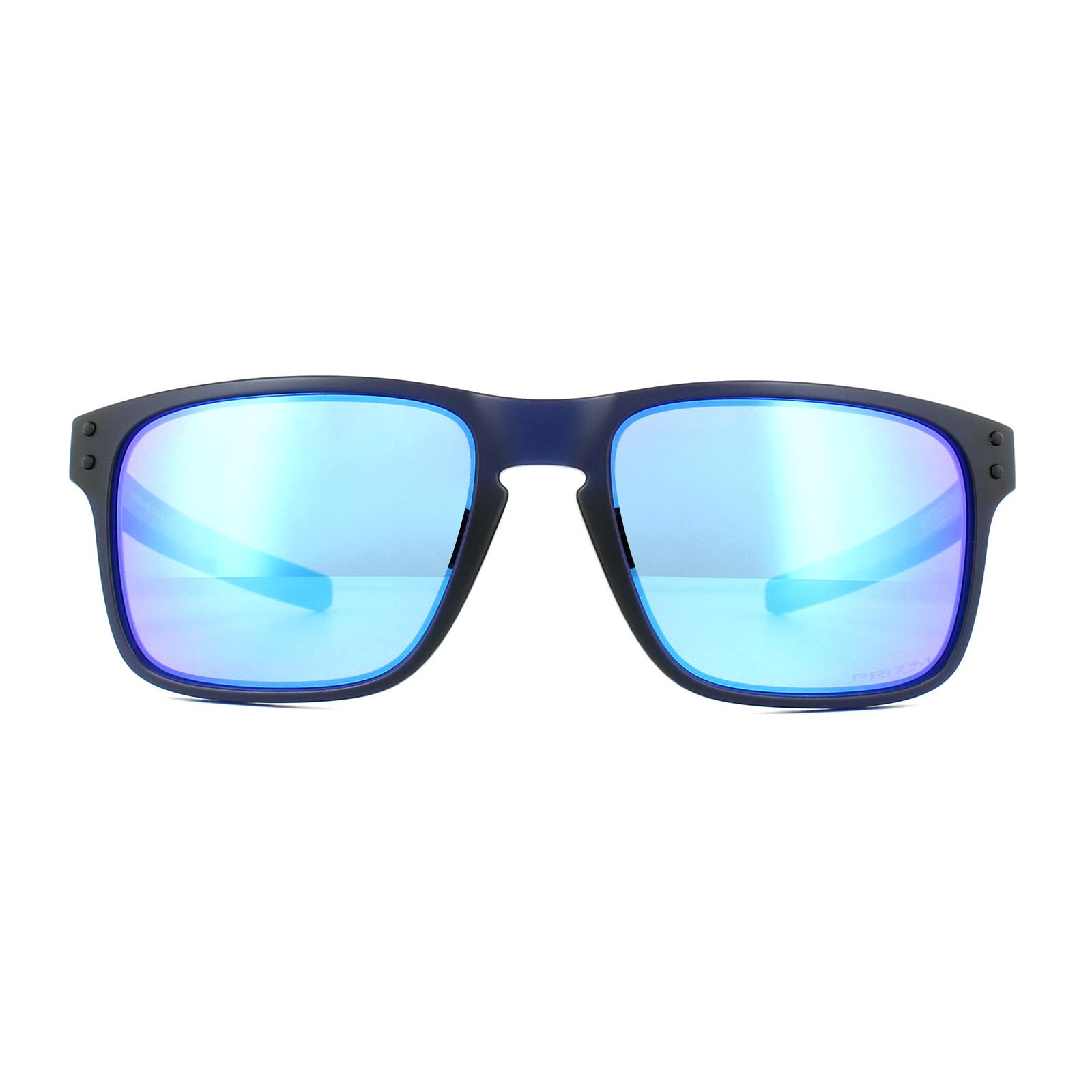 f38cd1a147 Sentinel Oakley Sunglasses Holbrook Mix OO9384-03 Matt Translucent Blue Prizm  Sapphire