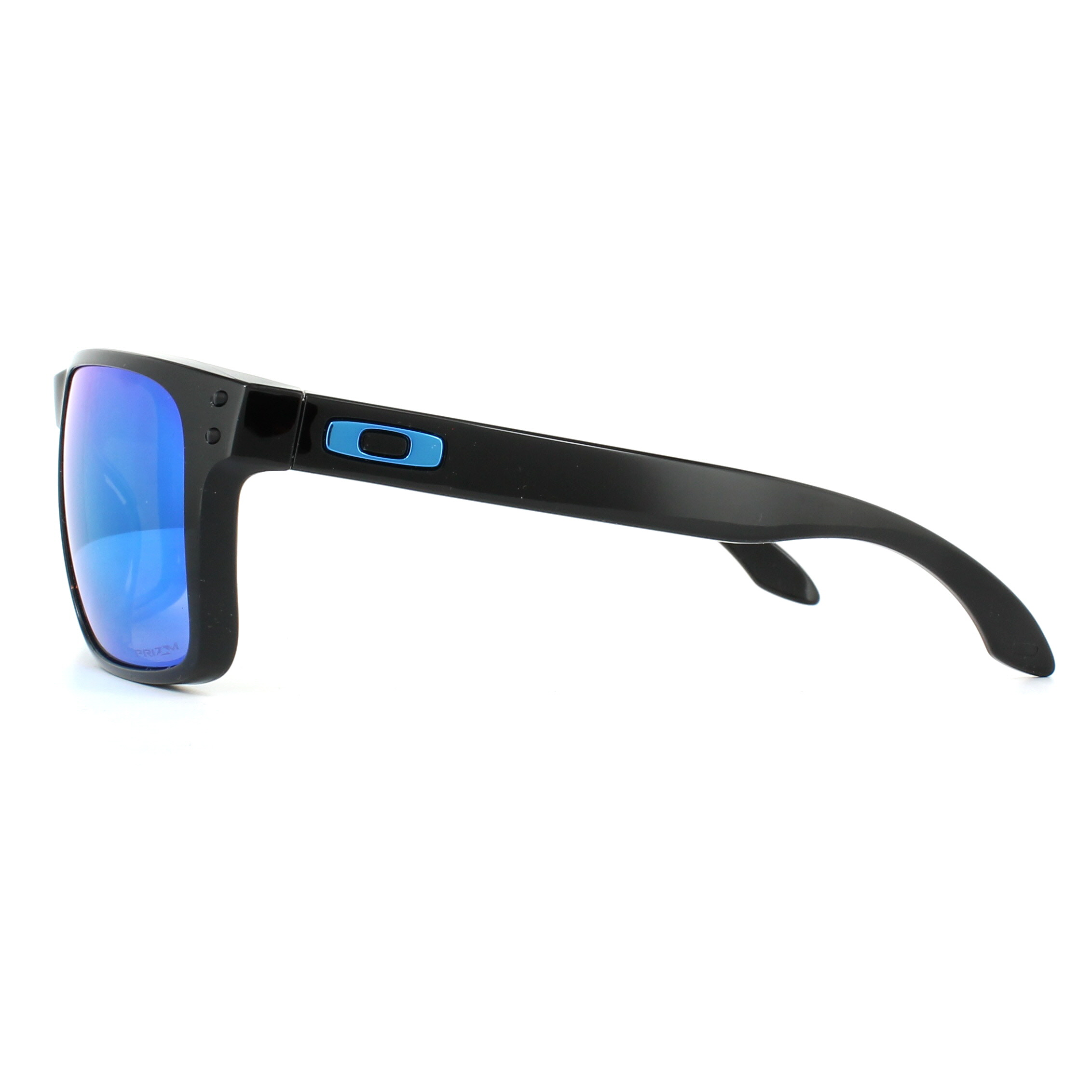 02a07c2371 Sentinel Oakley Sunglasses Holbrook XL OO9417-03 Polished Black Prizm  Sapphire